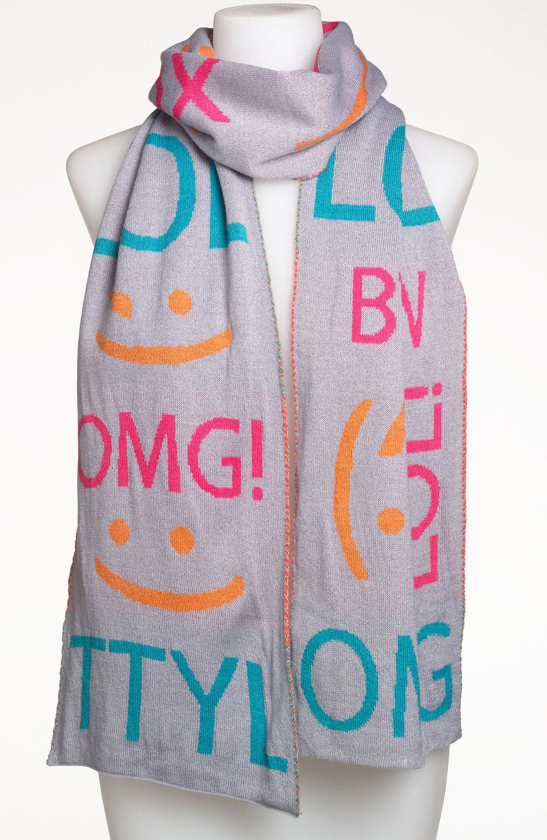 'OMG' Scarf, Main, color, 020