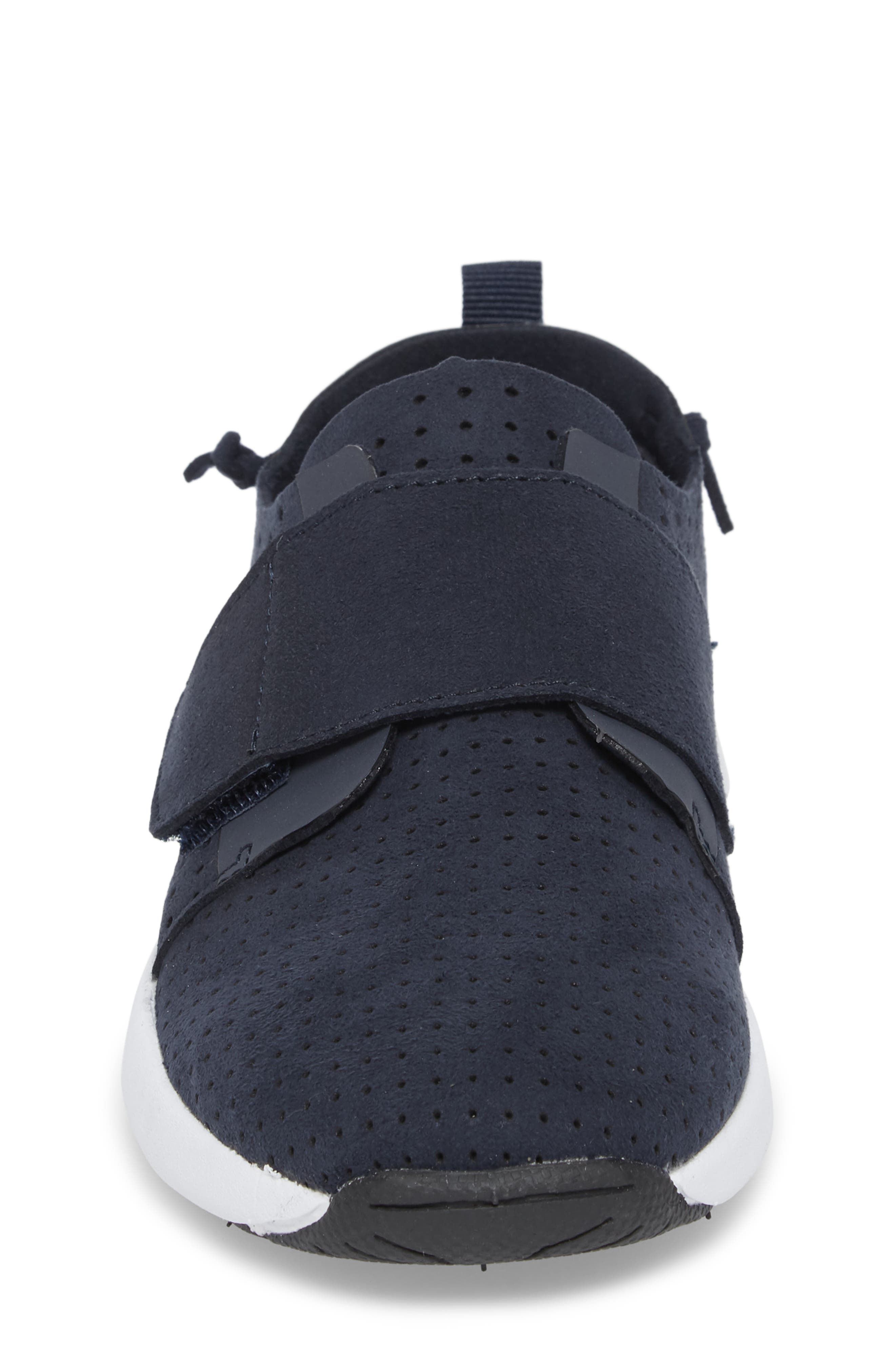 Brixxnv Perforated Sneaker,                             Alternate thumbnail 4, color,                             NAVY