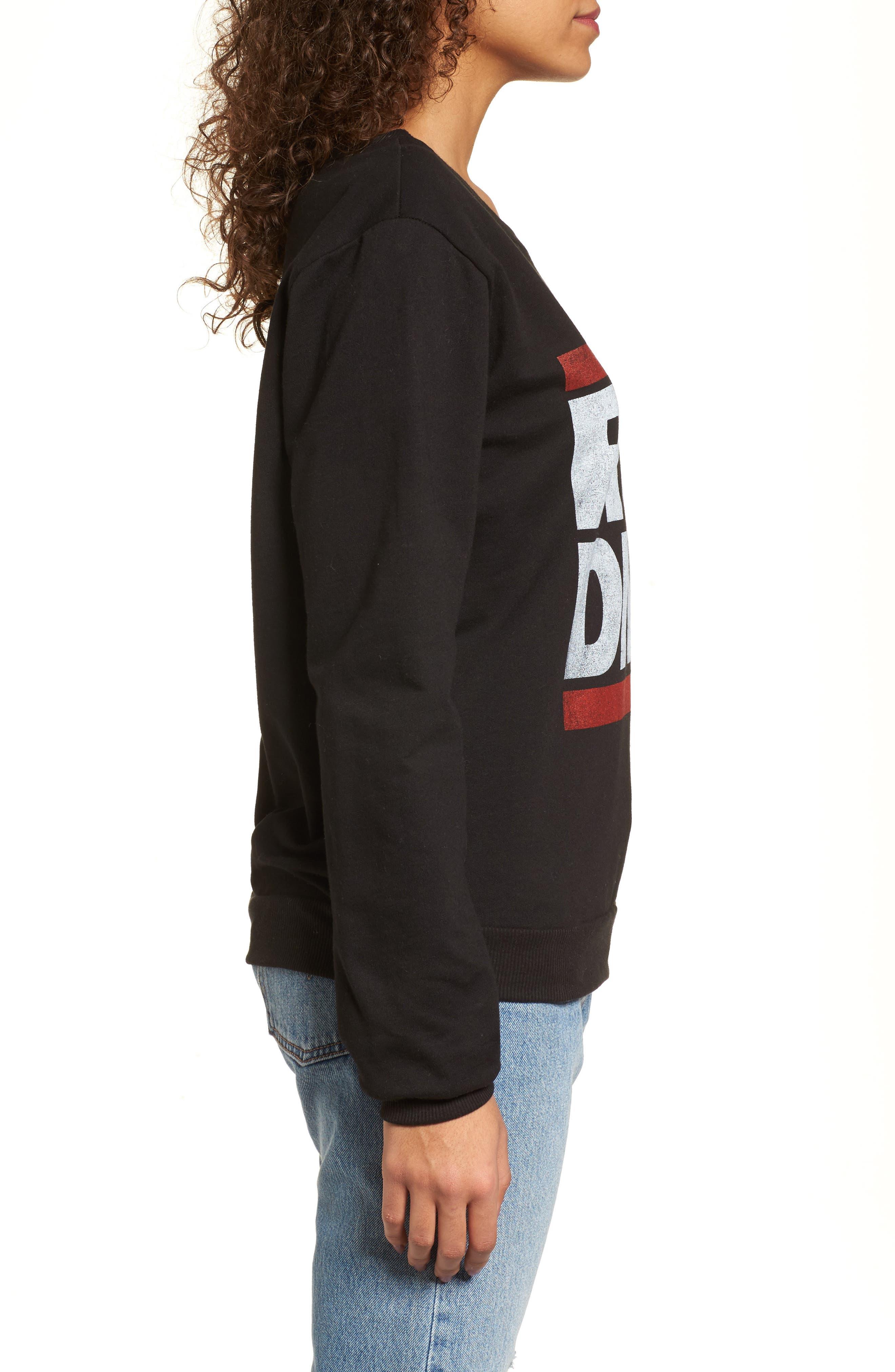 Run-DMC Sweatshirt,                             Alternate thumbnail 3, color,                             001