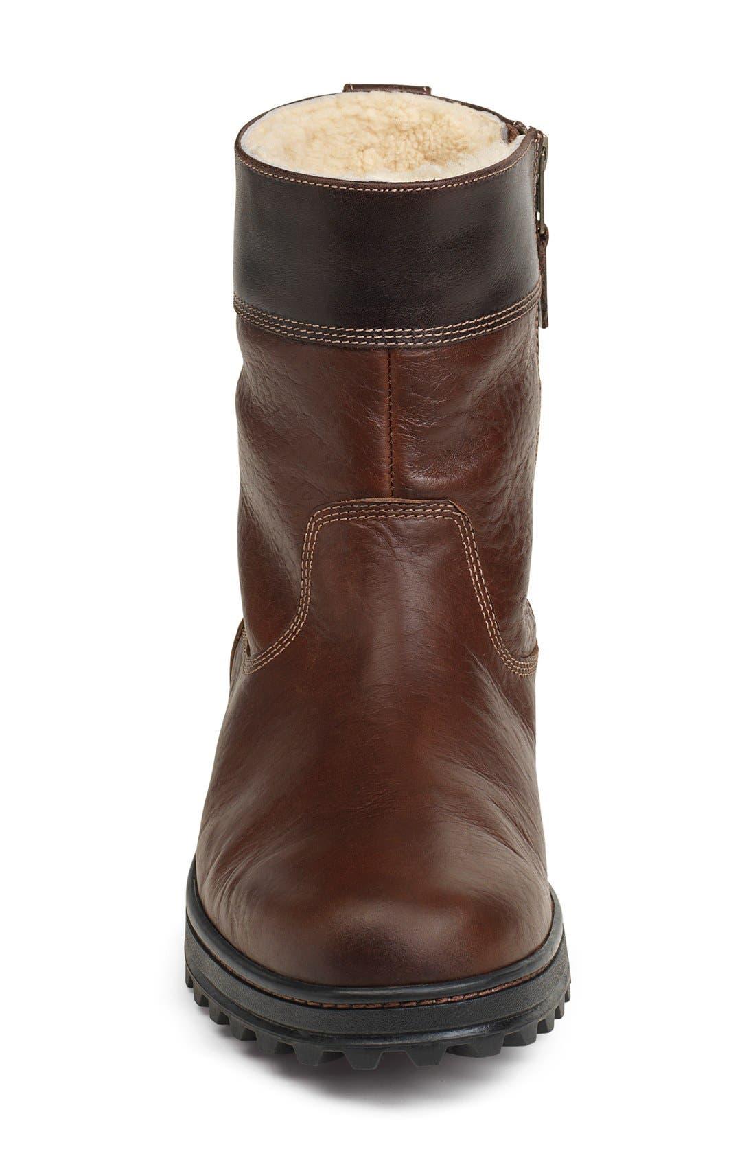 'Winslow' Plain Toe Boot,                             Alternate thumbnail 4, color,