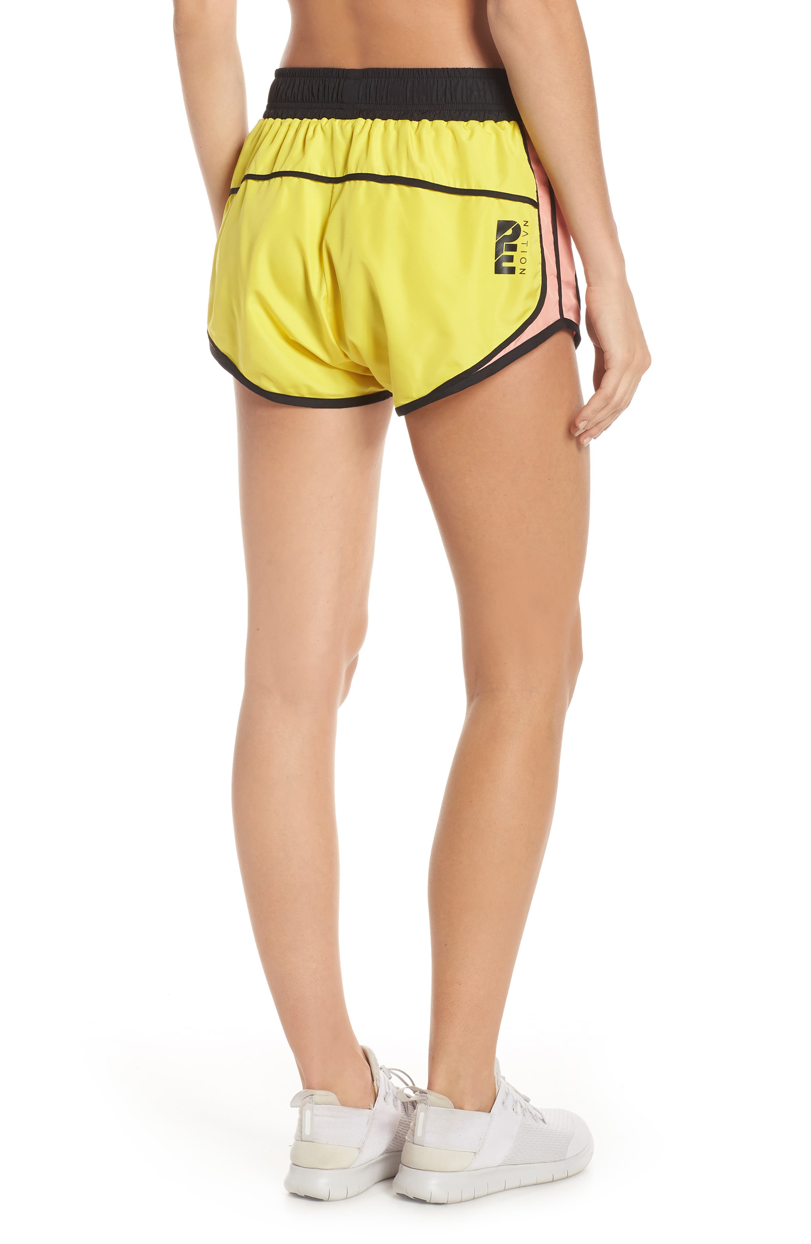 Sprint Vision Shorts,                             Alternate thumbnail 2, color,                             YELLOW