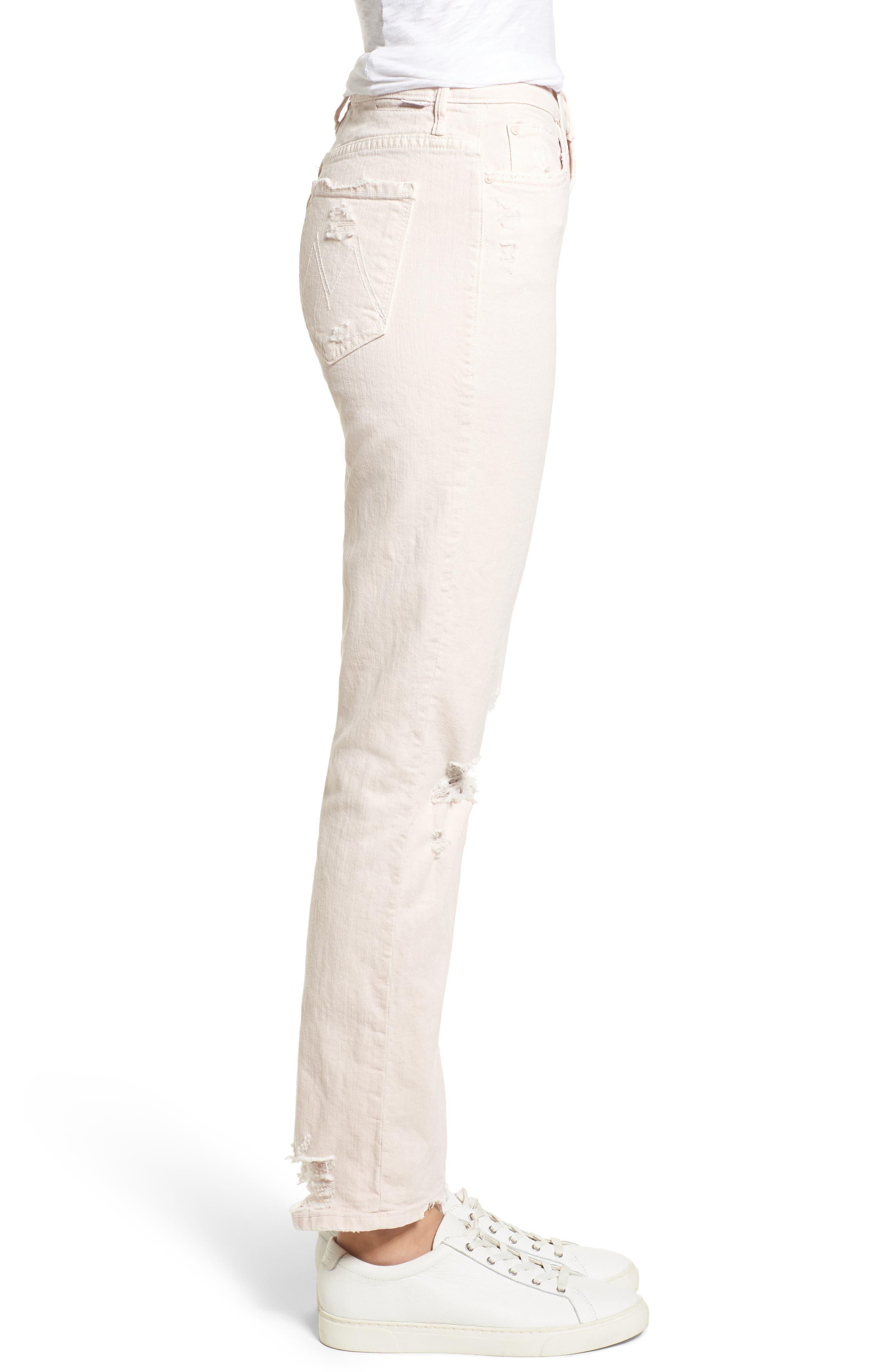 The Rascal High Waist Ankle Straight Leg Jeans,                             Alternate thumbnail 3, color,                             651
