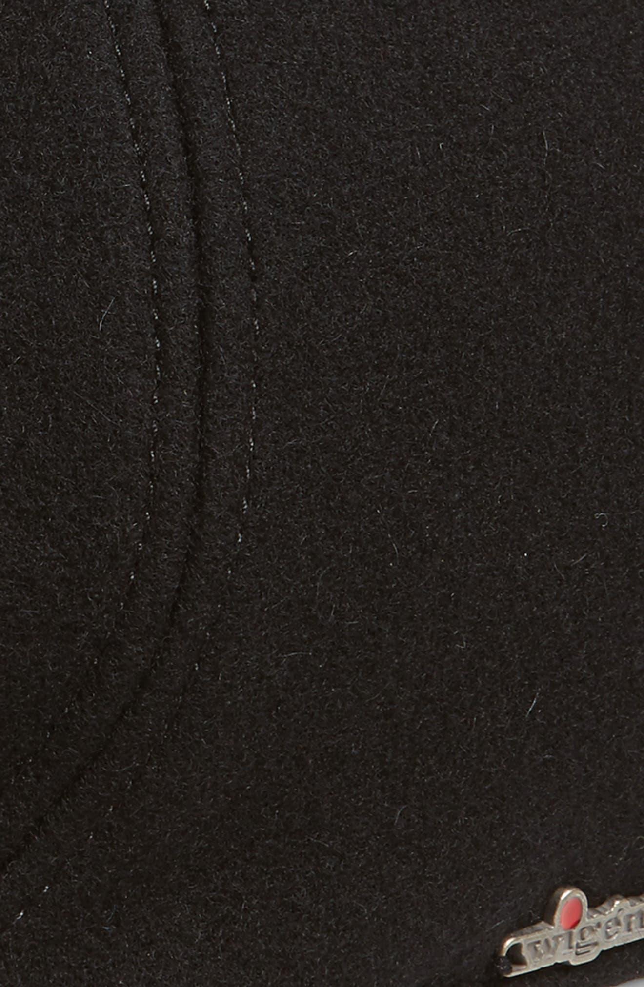 Wool Driving Cap,                             Alternate thumbnail 2, color,                             001