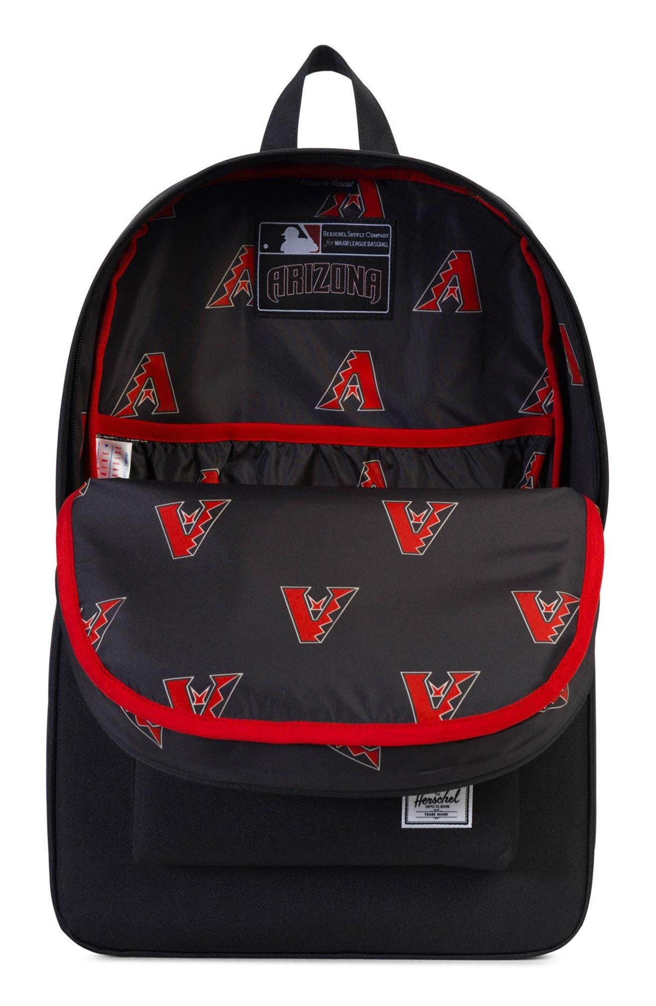 Heritage - MLB National League Backpack,                             Alternate thumbnail 3, color,                             001
