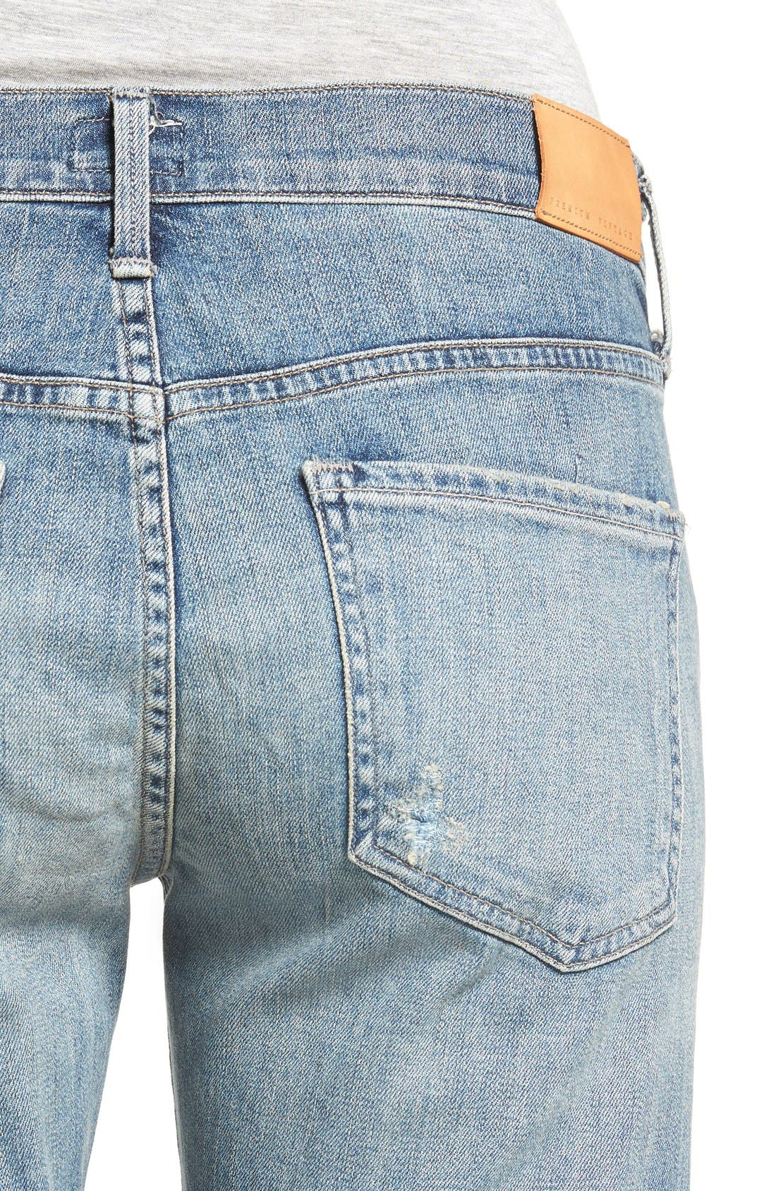 CITIZENS OF HUMANITY,                             'Emerson' Ripped Slim Boyfriend Jeans,                             Alternate thumbnail 4, color,                             469