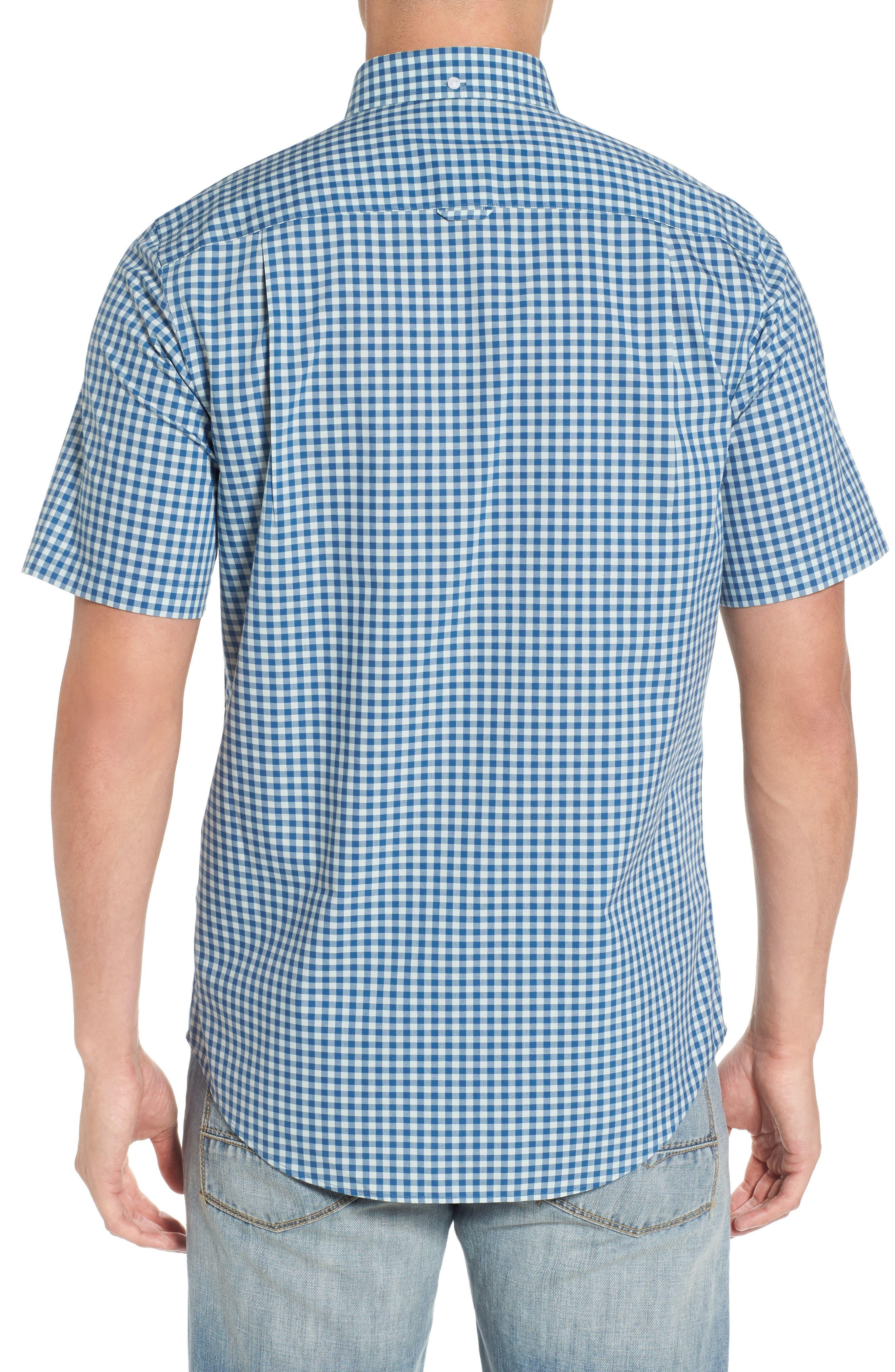 Regular Fit Gingham Sport Shirt,                             Alternate thumbnail 2, color,                             440