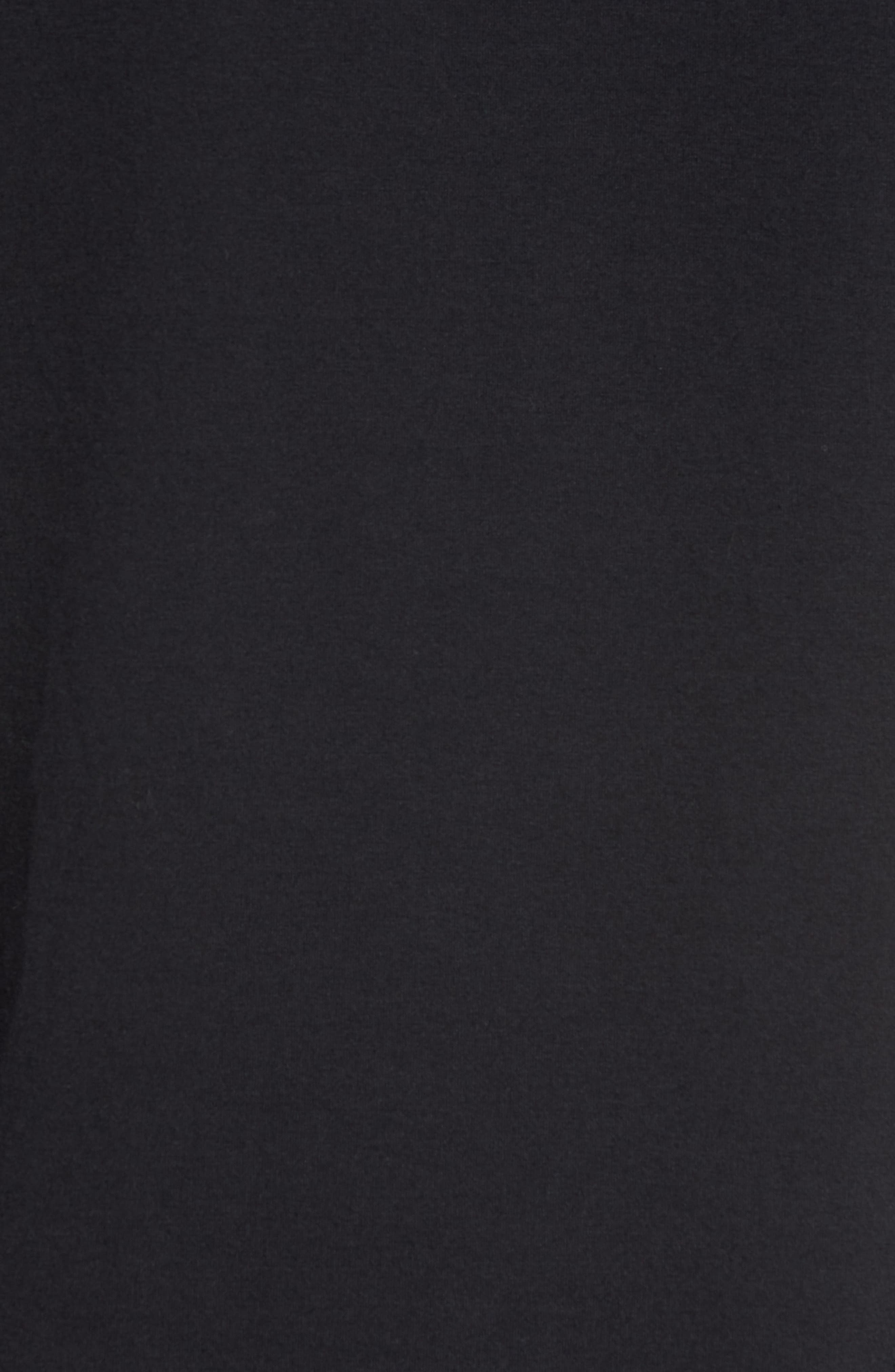 Trim Fit Vanish Logo T-Shirt,                             Alternate thumbnail 5, color,                             BLACK/ WHITE/ GRAPHITE