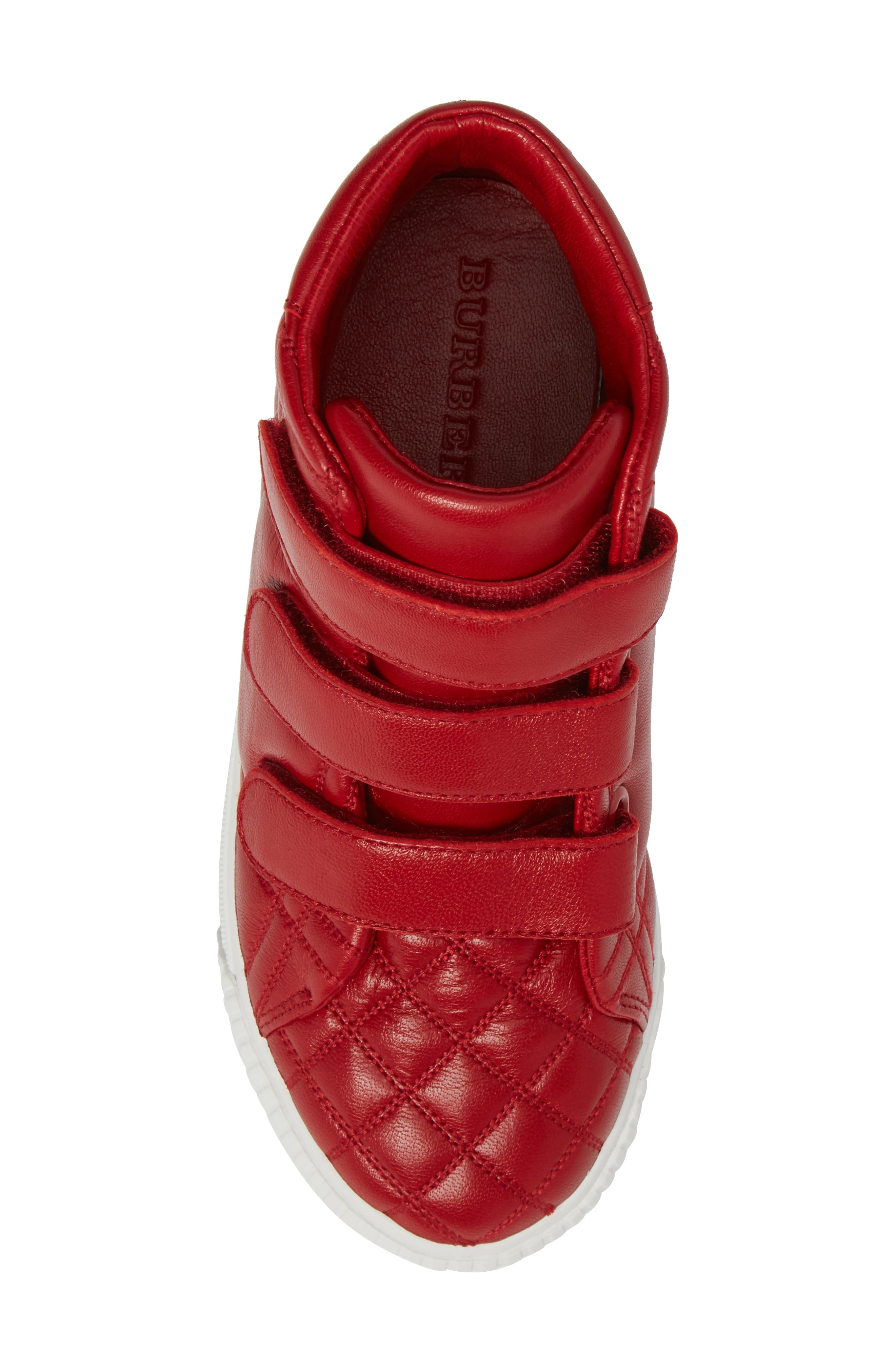 Sturrock Quilted High Top Sneaker,                             Alternate thumbnail 10, color,