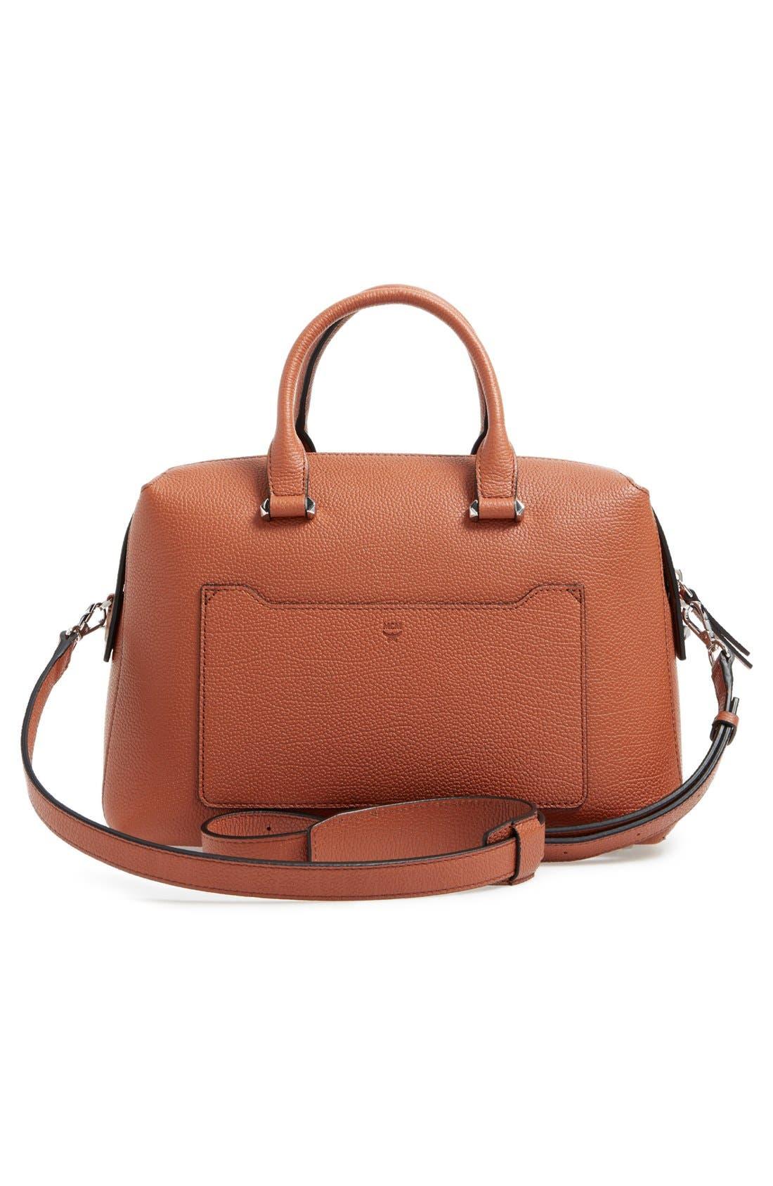Medium Ella Boston Bowler Bag,                             Alternate thumbnail 8, color,