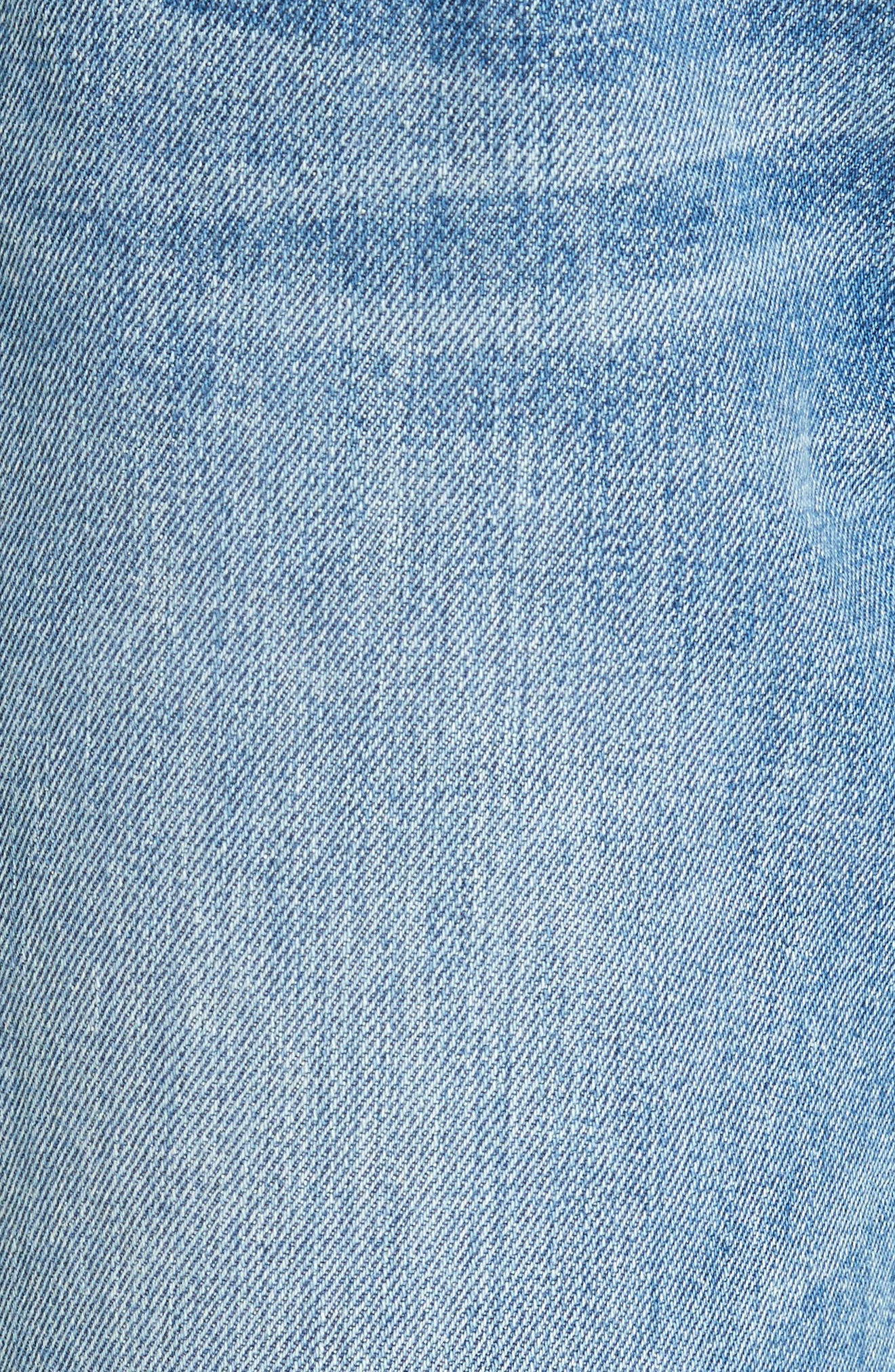 Lou High Waist Jeans,                             Alternate thumbnail 5, color,                             458