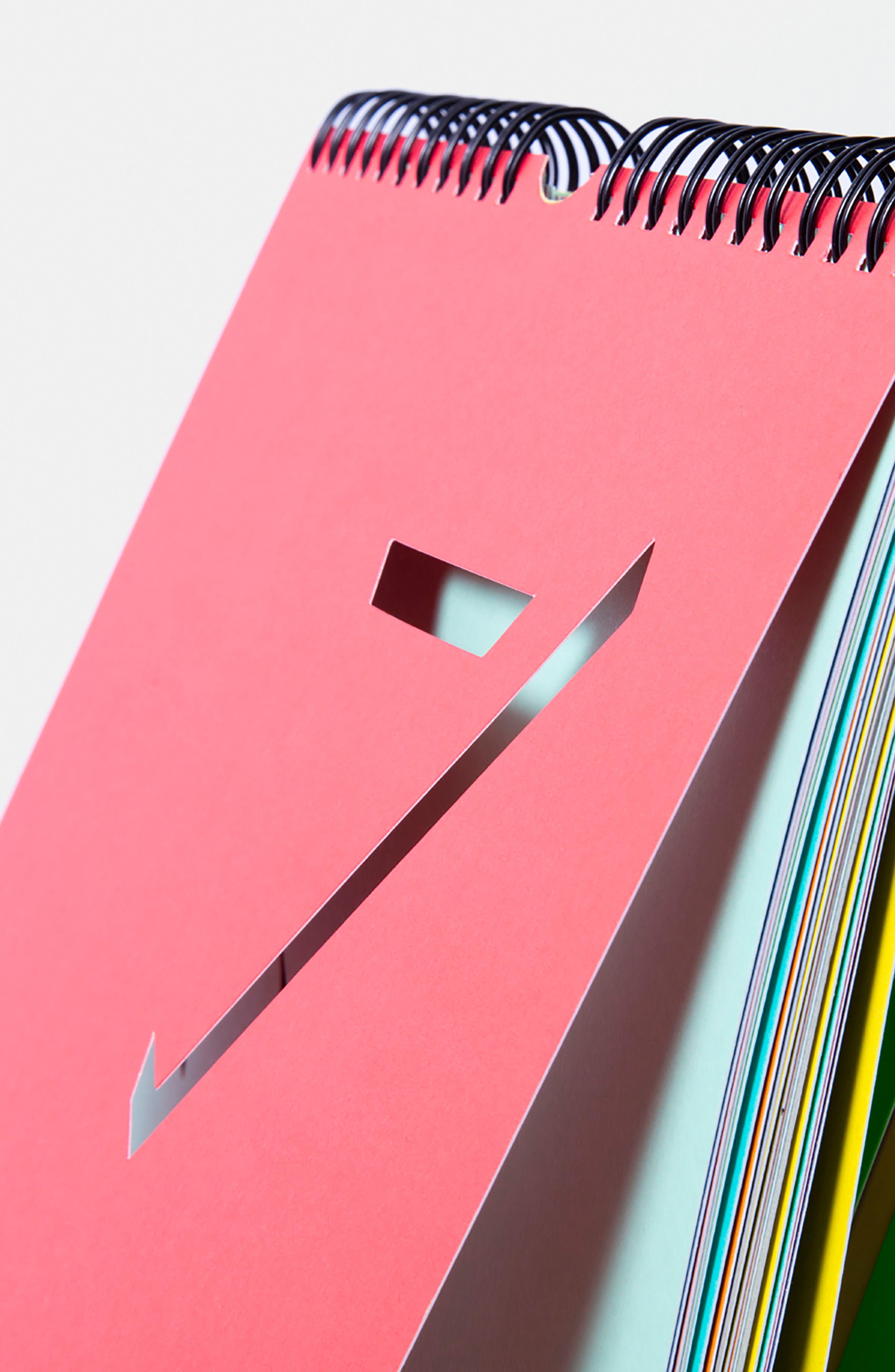 Flip Perpetual Calendar,                             Alternate thumbnail 2, color,                             MULTI