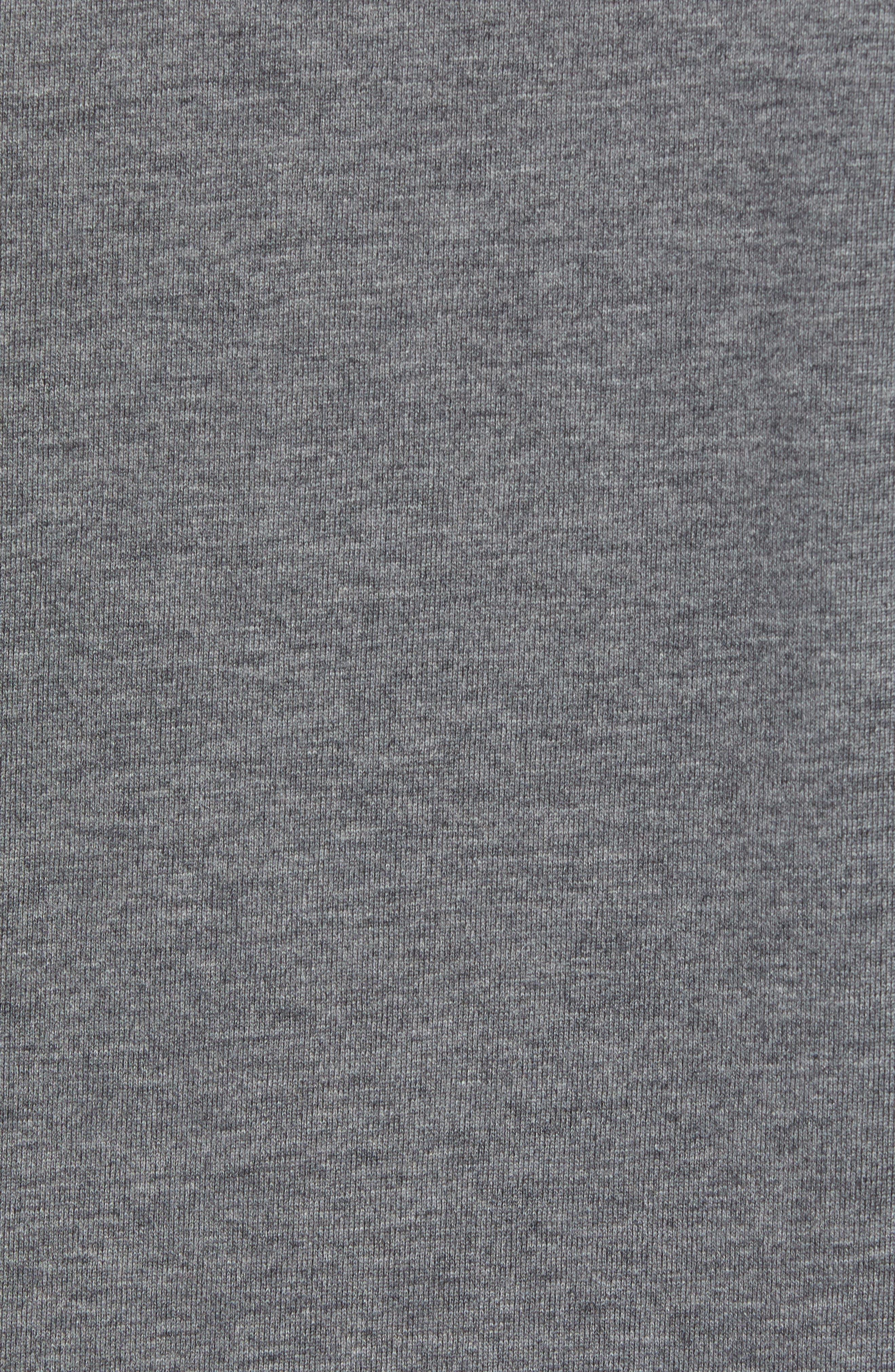 Rule 18 Brushed Regular Fit Knit Sport Shirt,                             Alternate thumbnail 5, color,                             020
