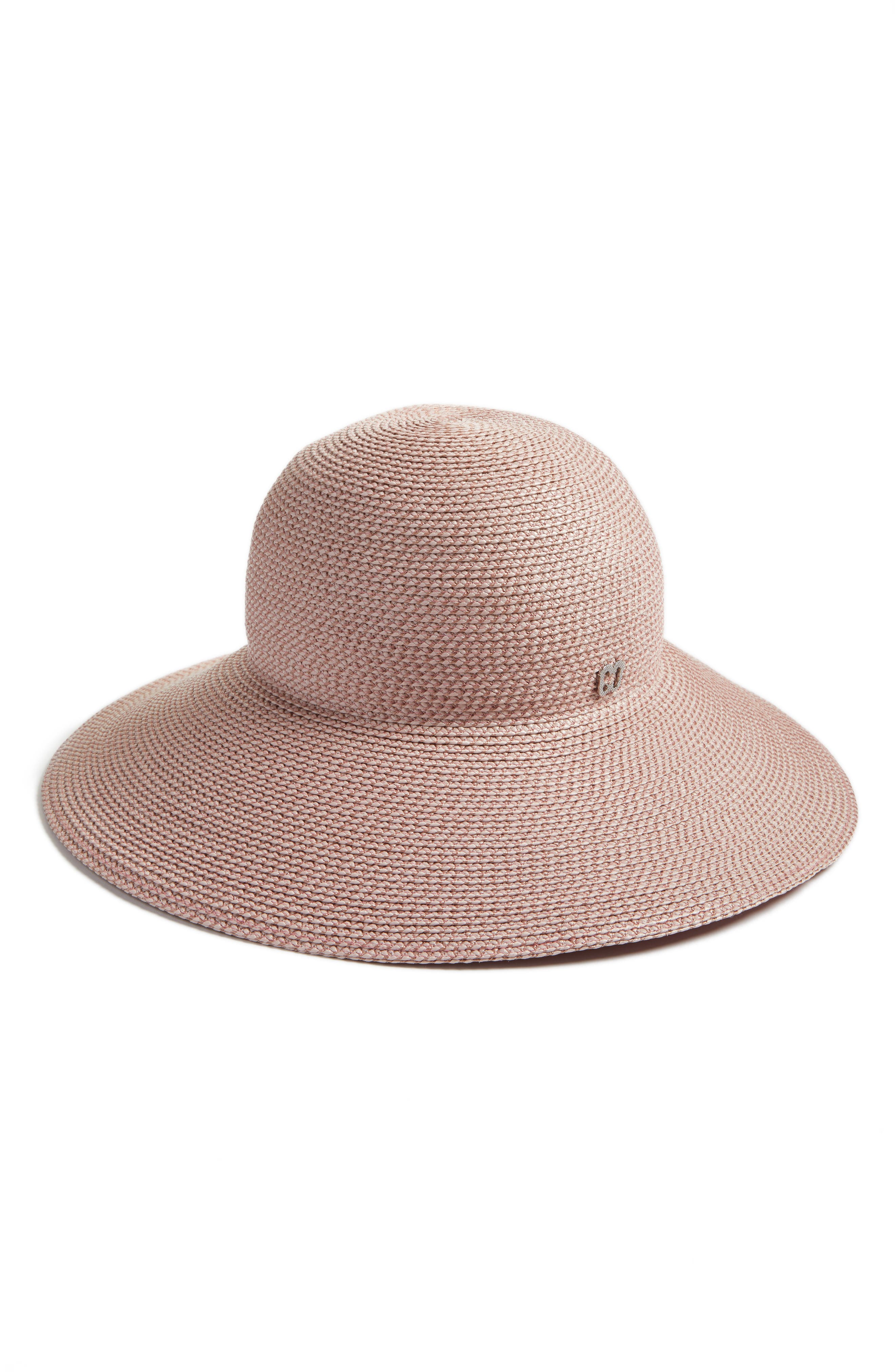 'Hampton' Straw Sun Hat,                             Alternate thumbnail 2, color,                             BLUSH