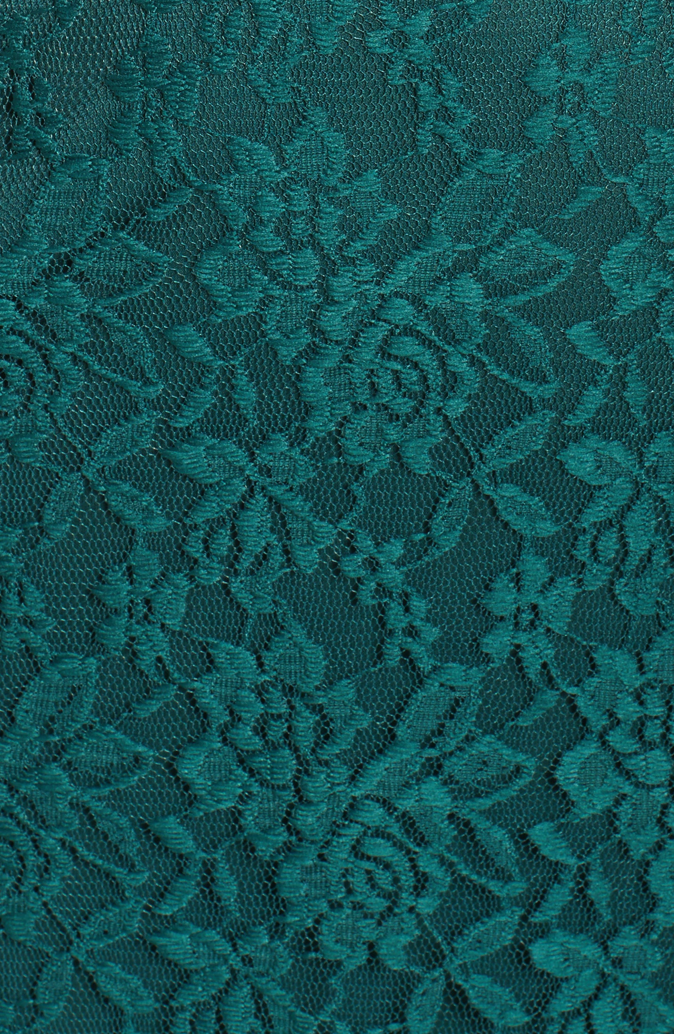 Lace Skater Dress,                             Alternate thumbnail 5, color,                             363