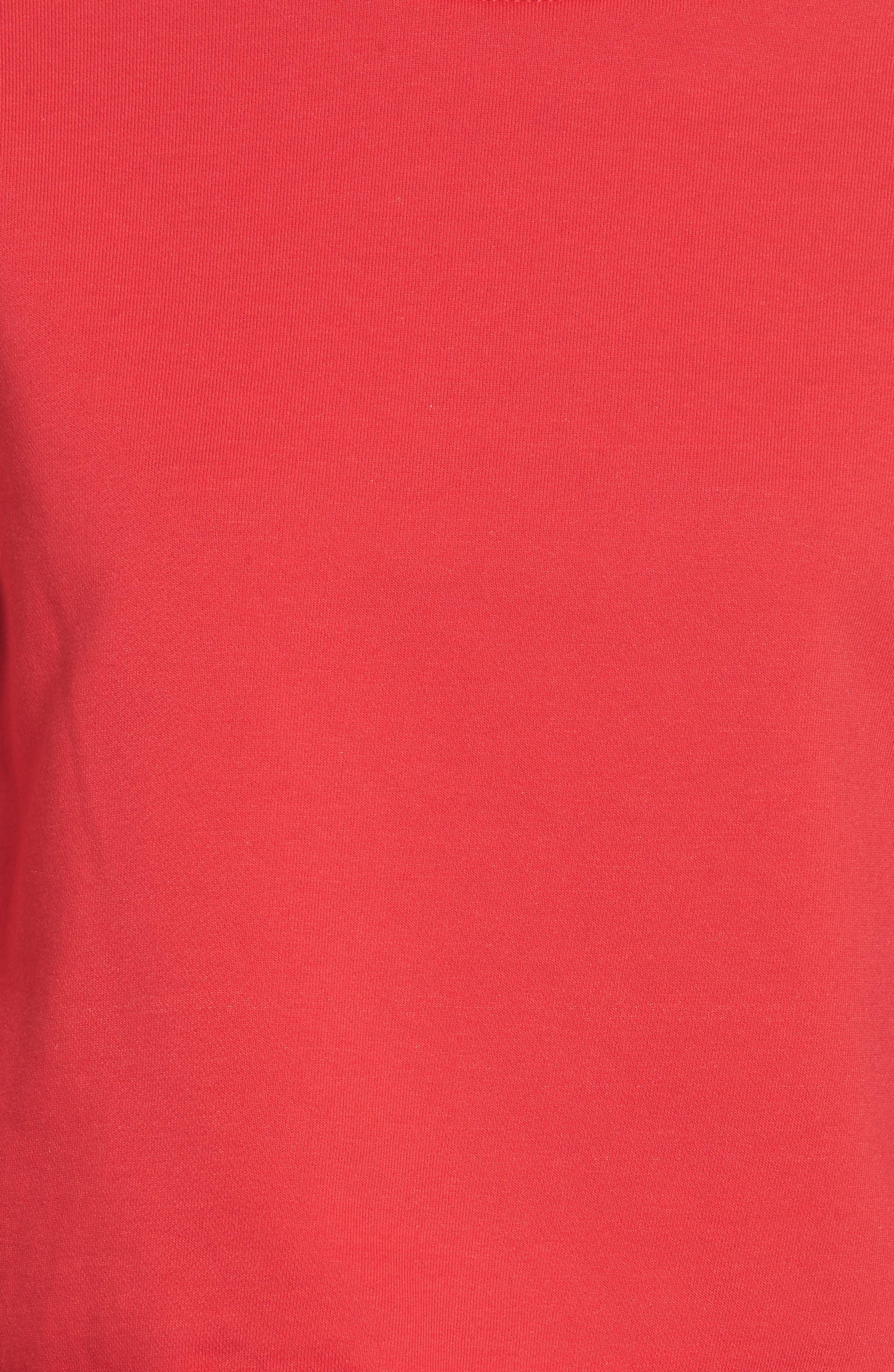 Ruffle Trim Sweatshirt,                             Alternate thumbnail 5, color,                             600