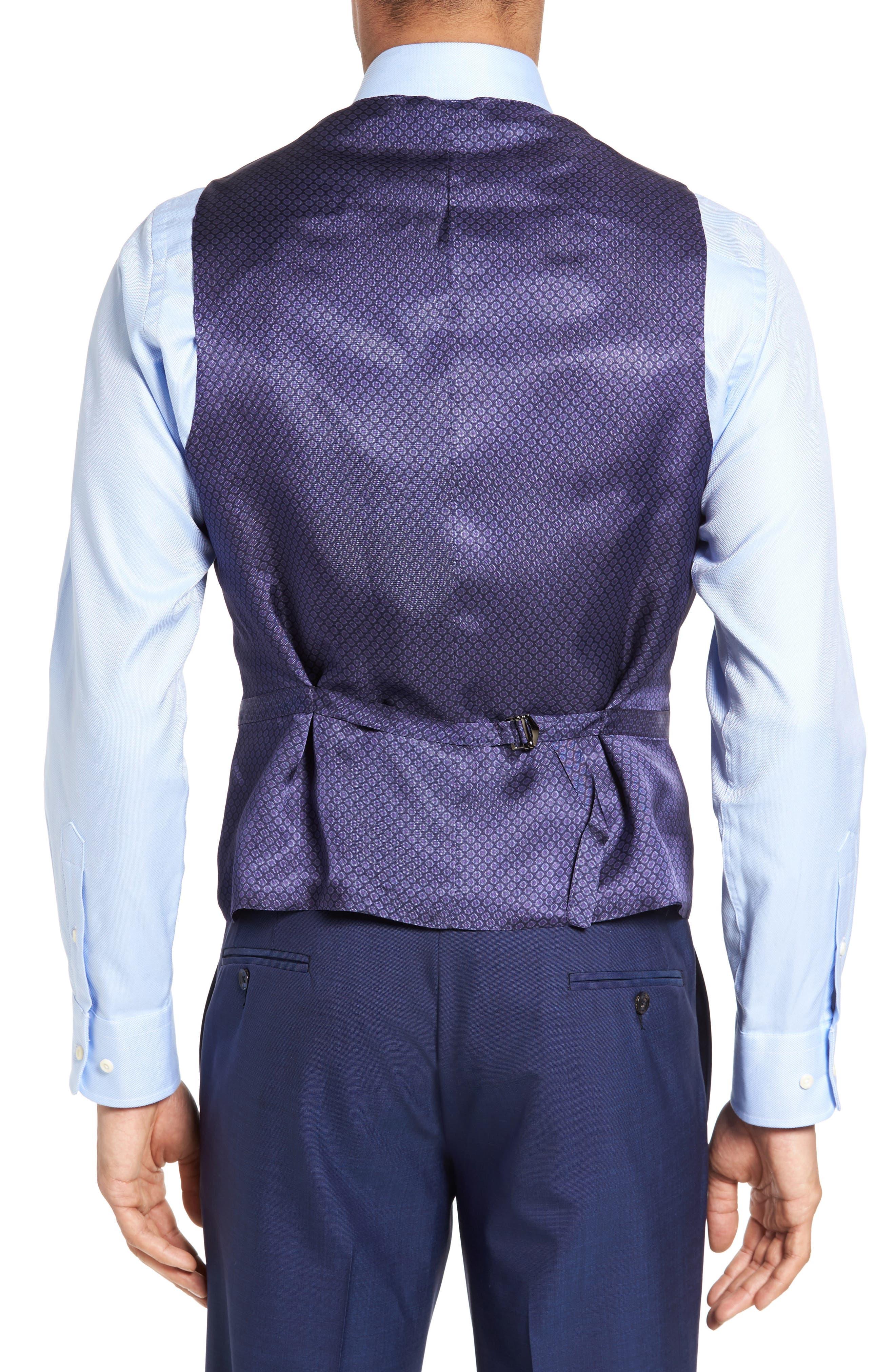 Jones Trim Fit Wool Vest,                             Alternate thumbnail 9, color,
