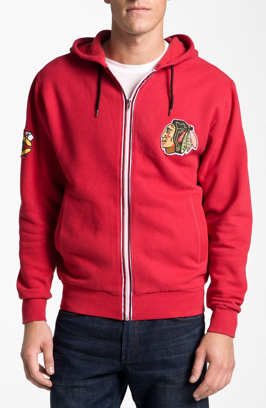 'Chicago Blackhawks' Hoodie,                         Main,                         color, 600
