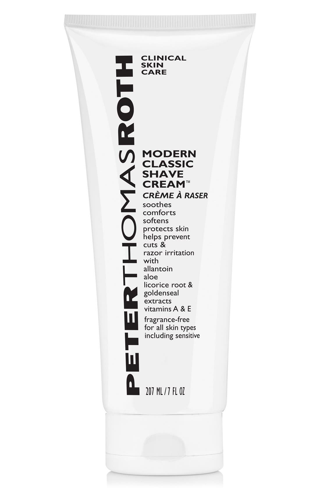 Modern Classic Shave Cream,                             Main thumbnail 1, color,                             000