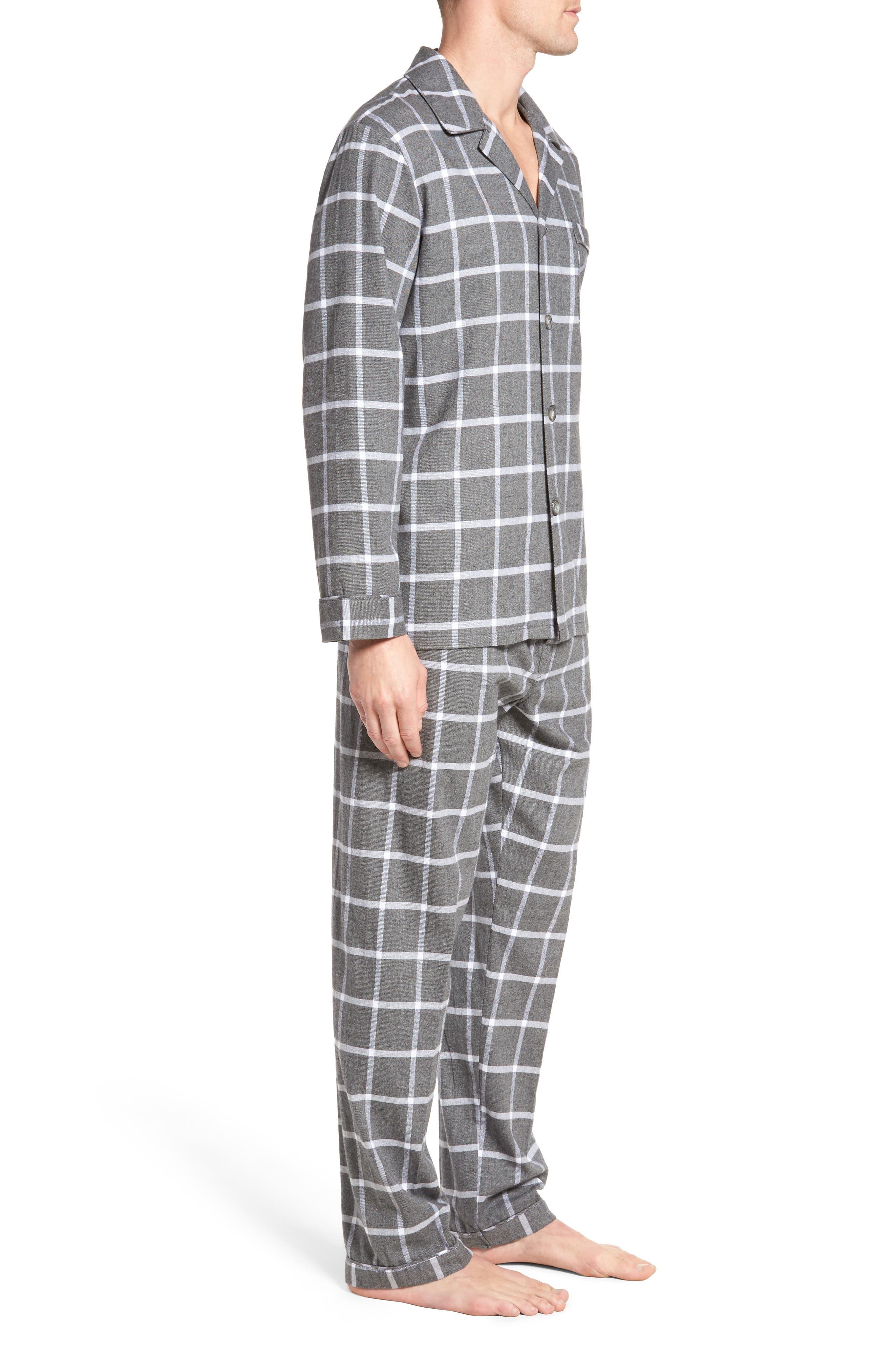 Bryson Plaid Pajama Set,                             Alternate thumbnail 7, color,