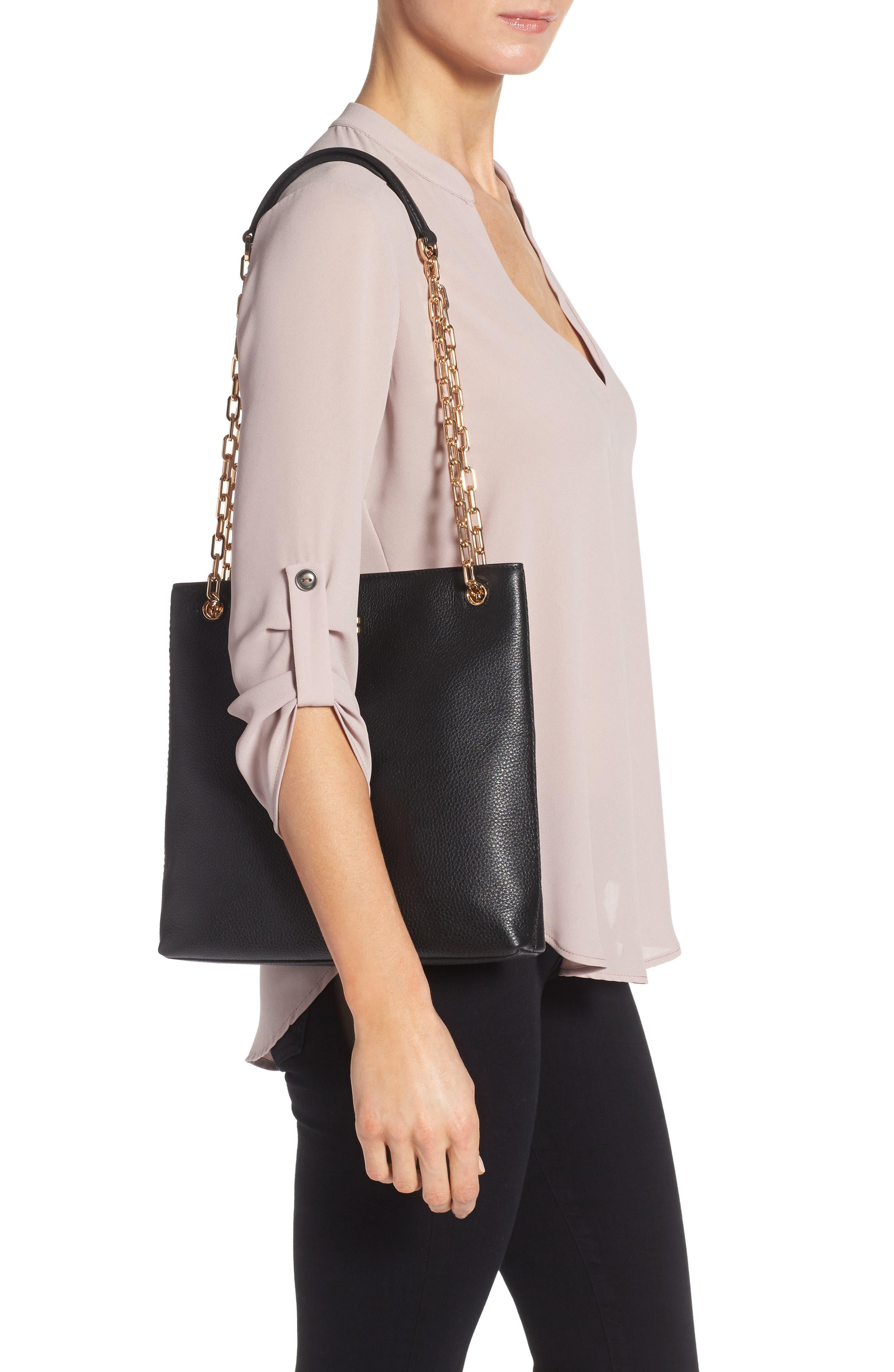 Frida Swingpack Leather Crossbody Bag,                             Alternate thumbnail 2, color,                             001