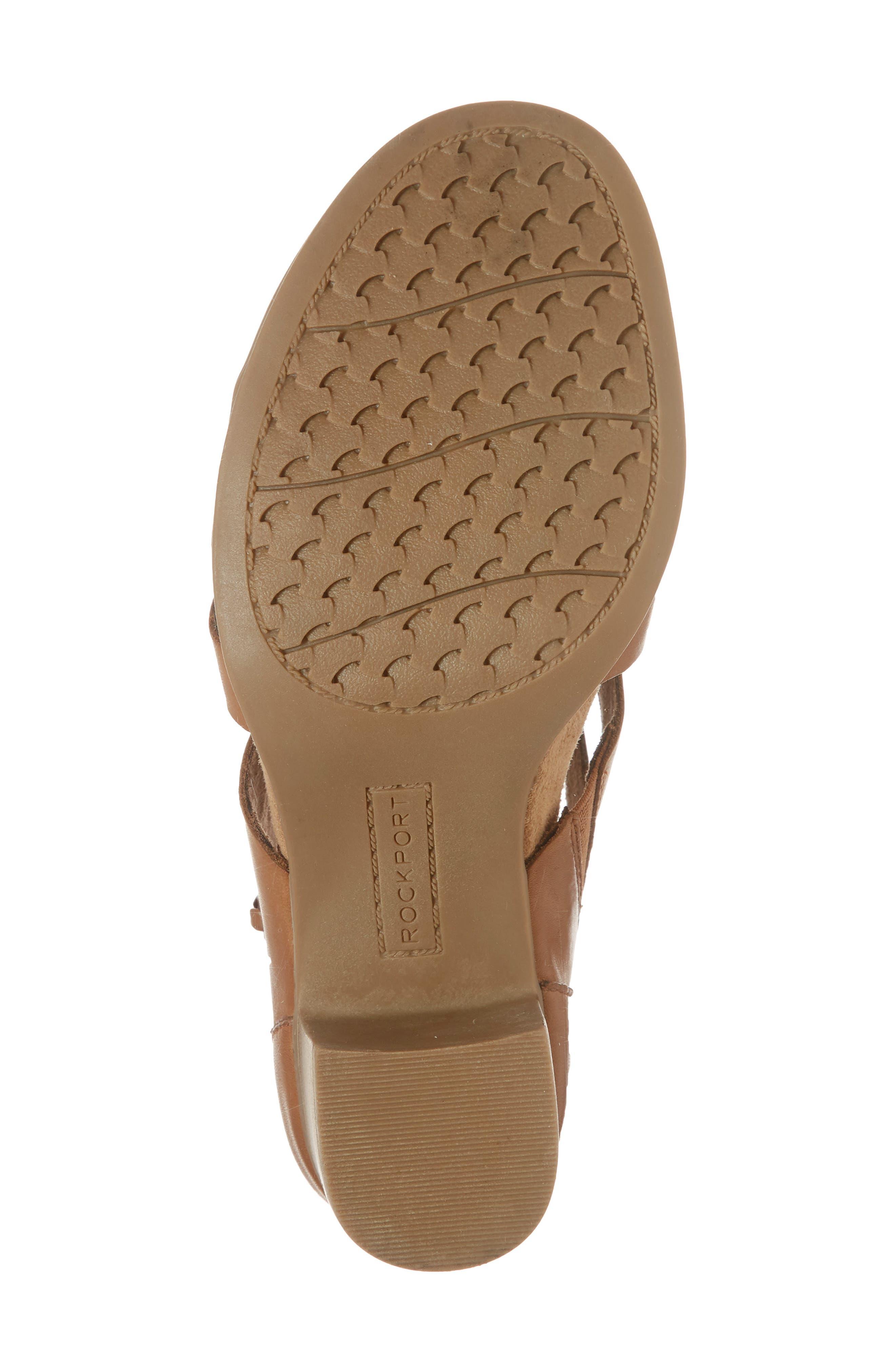 Hattie Block Heel Gladiator Sandal,                             Alternate thumbnail 6, color,                             231
