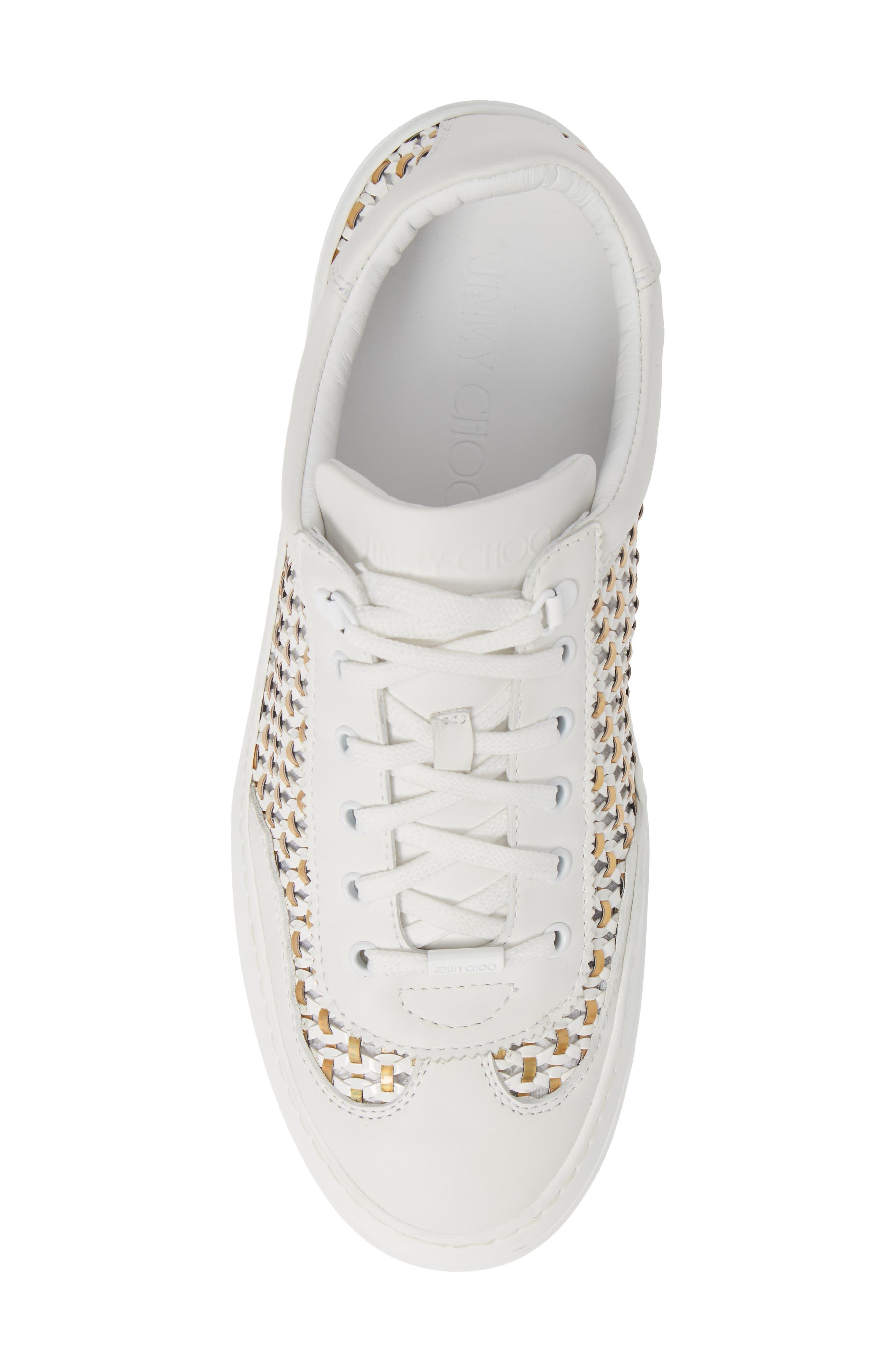 Ace Mux Sneaker,                             Alternate thumbnail 5, color,                             WHITE MIX