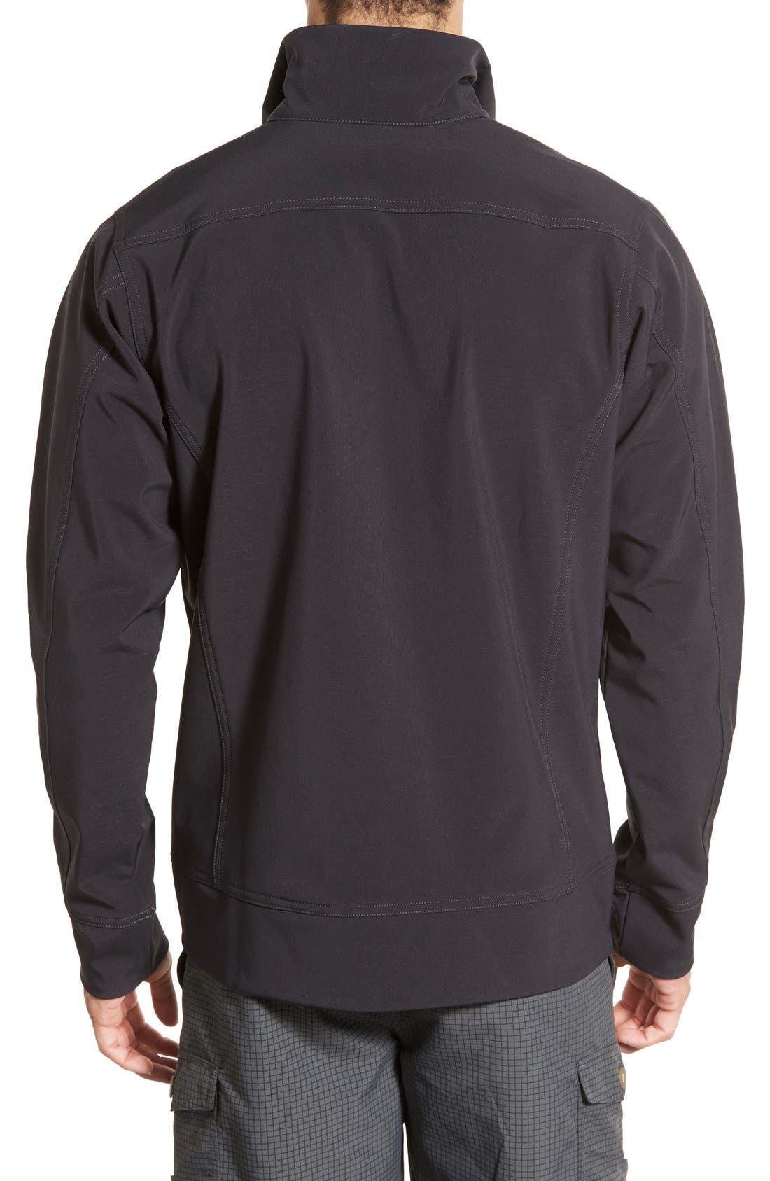 'Sidesend' Regular Fit Water Repellent Jacket,                             Alternate thumbnail 4, color,