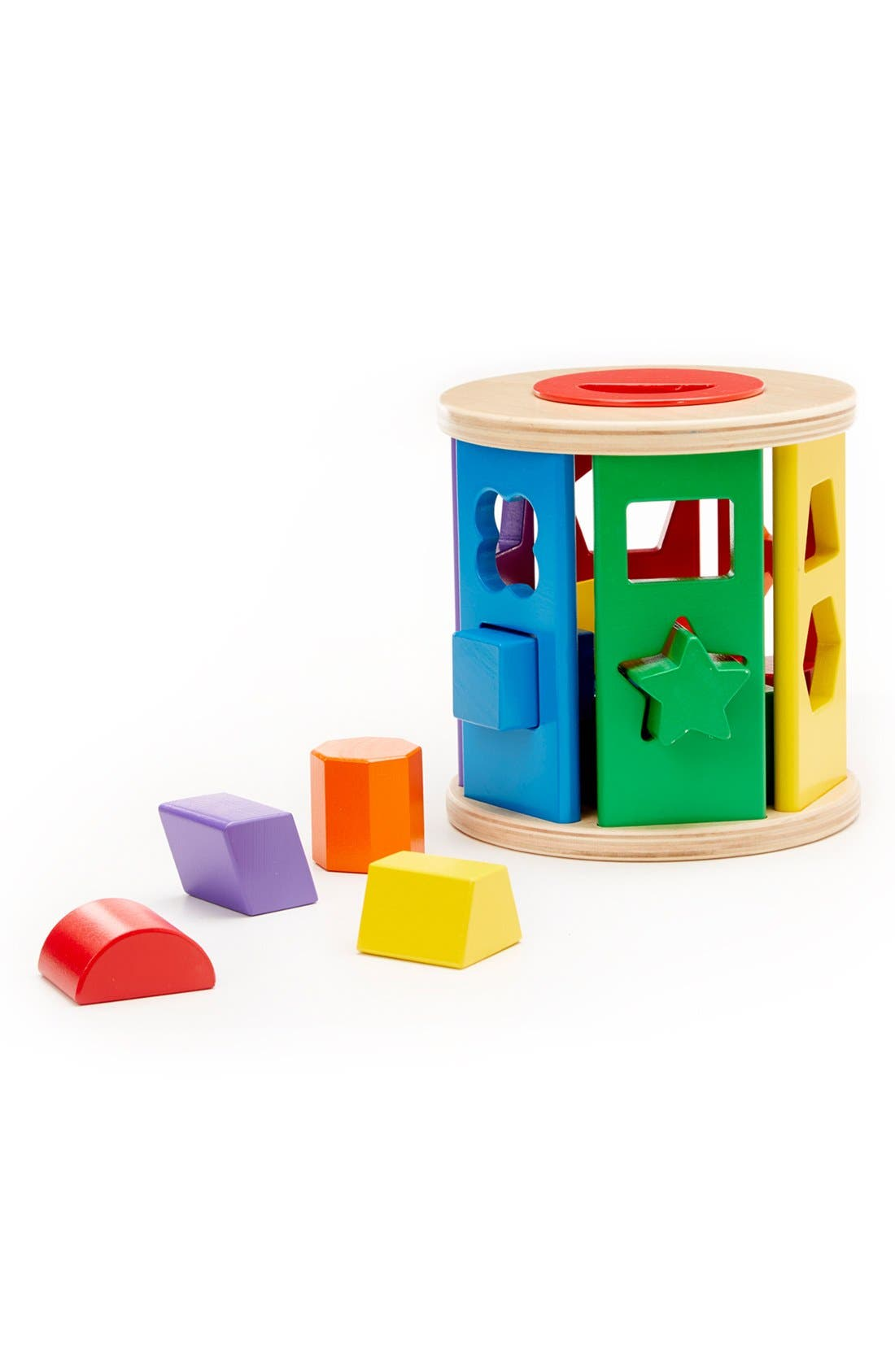'Match & Roll' Shape Sorter,                             Main thumbnail 1, color,                             200