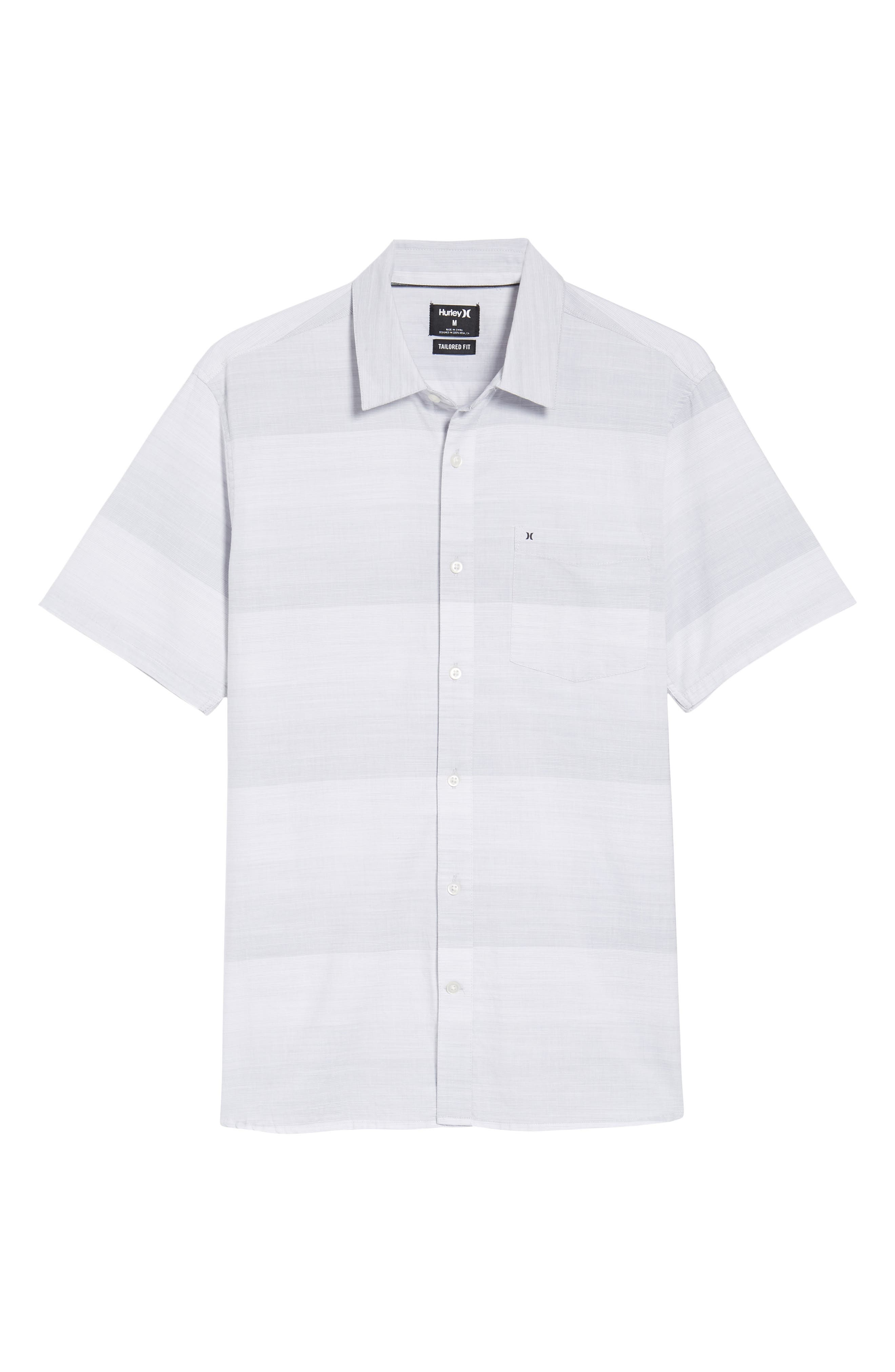Morris Shirt,                             Alternate thumbnail 6, color,                             WOLF GREY