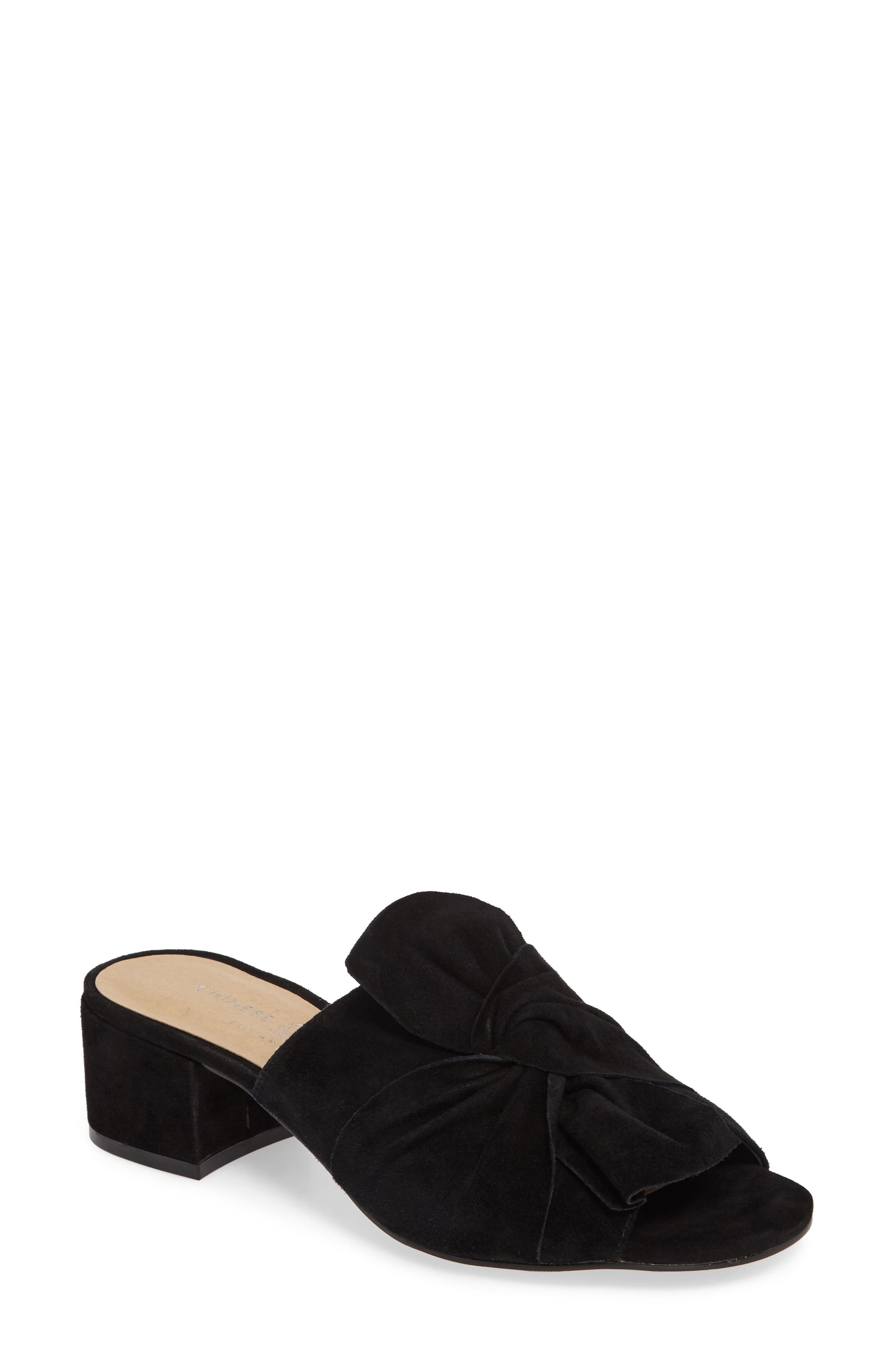 Marlowe Slide Sandal,                             Main thumbnail 1, color,                             001