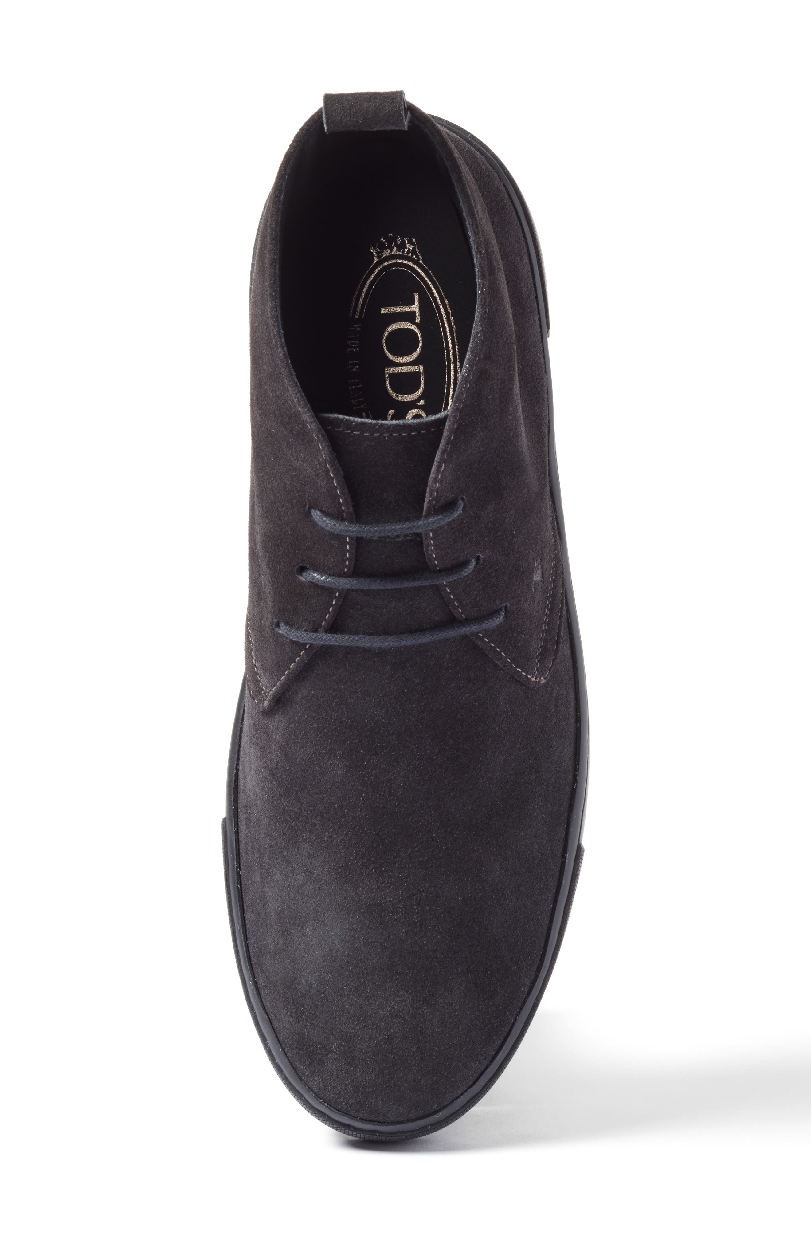 Leather Chukka Boot,                             Alternate thumbnail 5, color,                             020