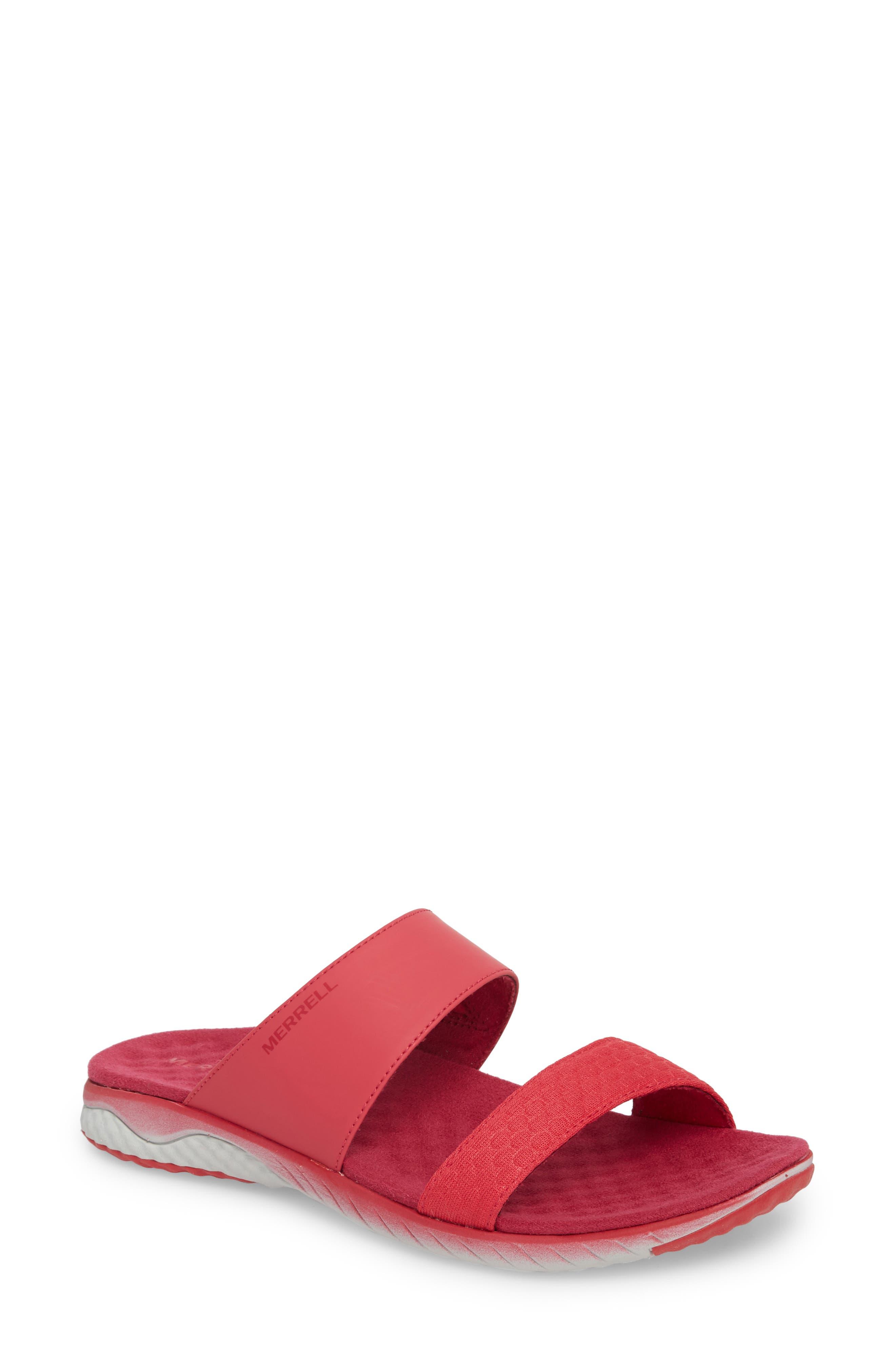 1SIX8 Linna Air Cushion+ Slide Sandal,                             Main thumbnail 4, color,