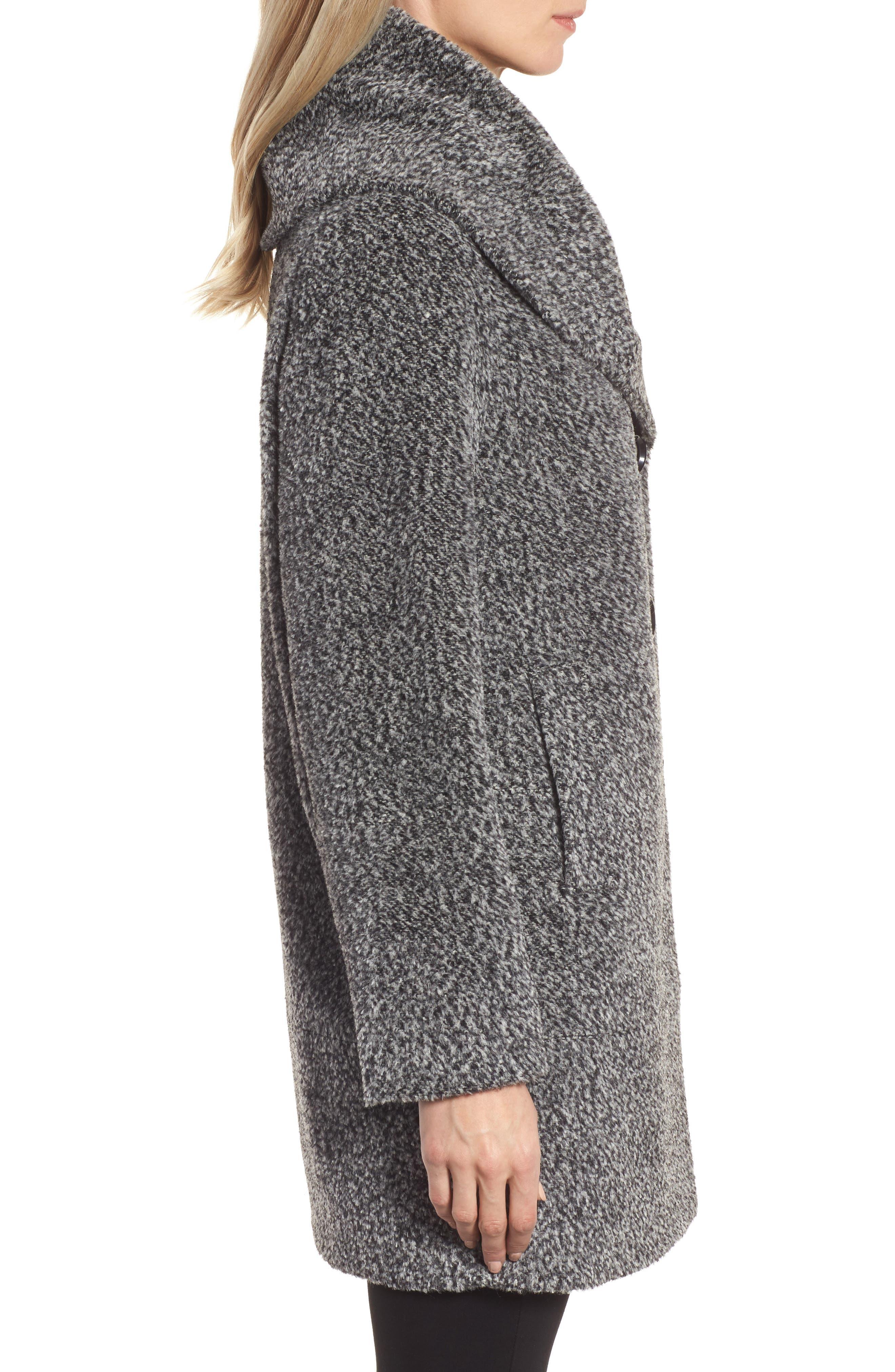 Wool Blend Coat,                             Alternate thumbnail 3, color,                             011