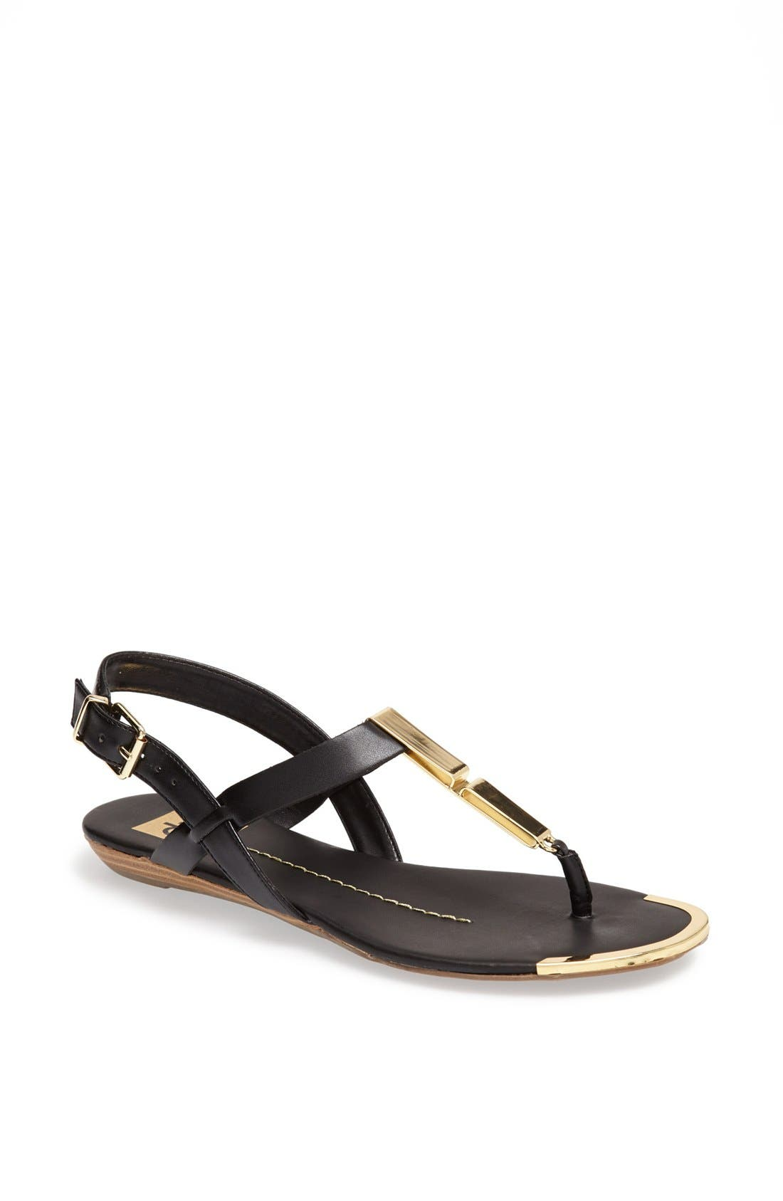 DV by Dolce Vita 'Abley' Thong Sandal,                             Main thumbnail 1, color,                             001