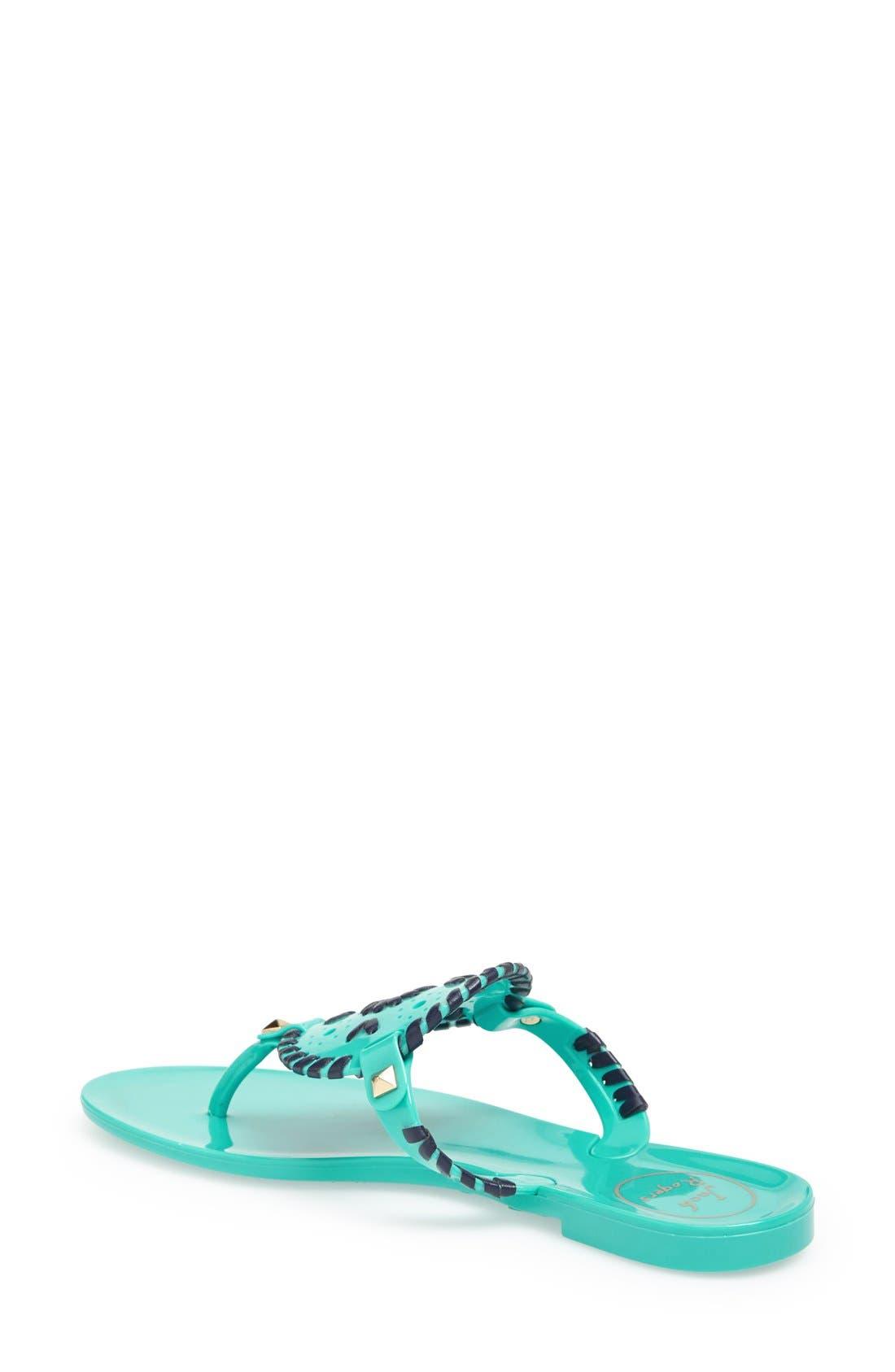 'Georgica' Jelly Flip Flop,                             Alternate thumbnail 150, color,