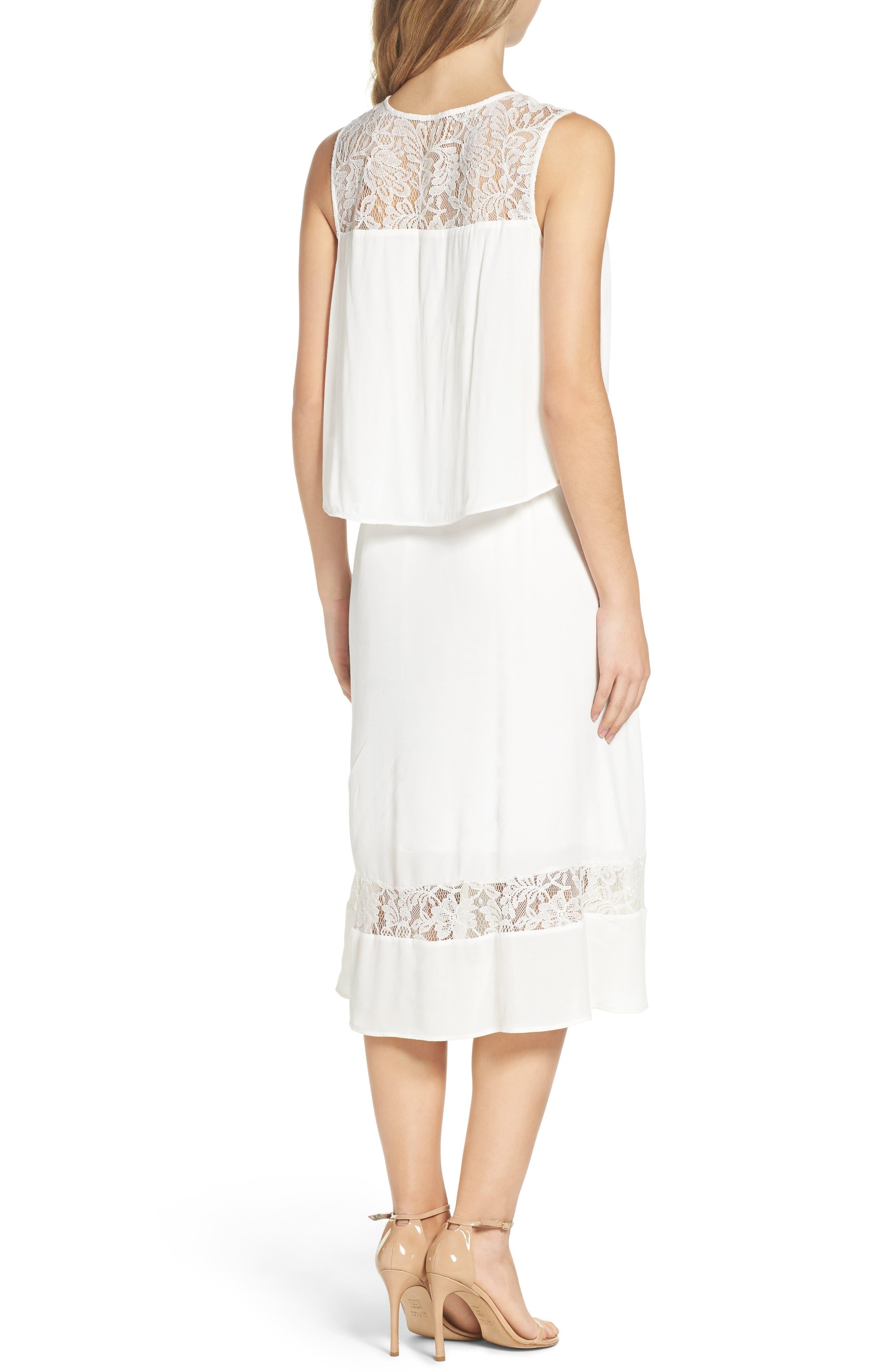 BB Dakota Erin Popover Dress,                             Alternate thumbnail 2, color,                             402