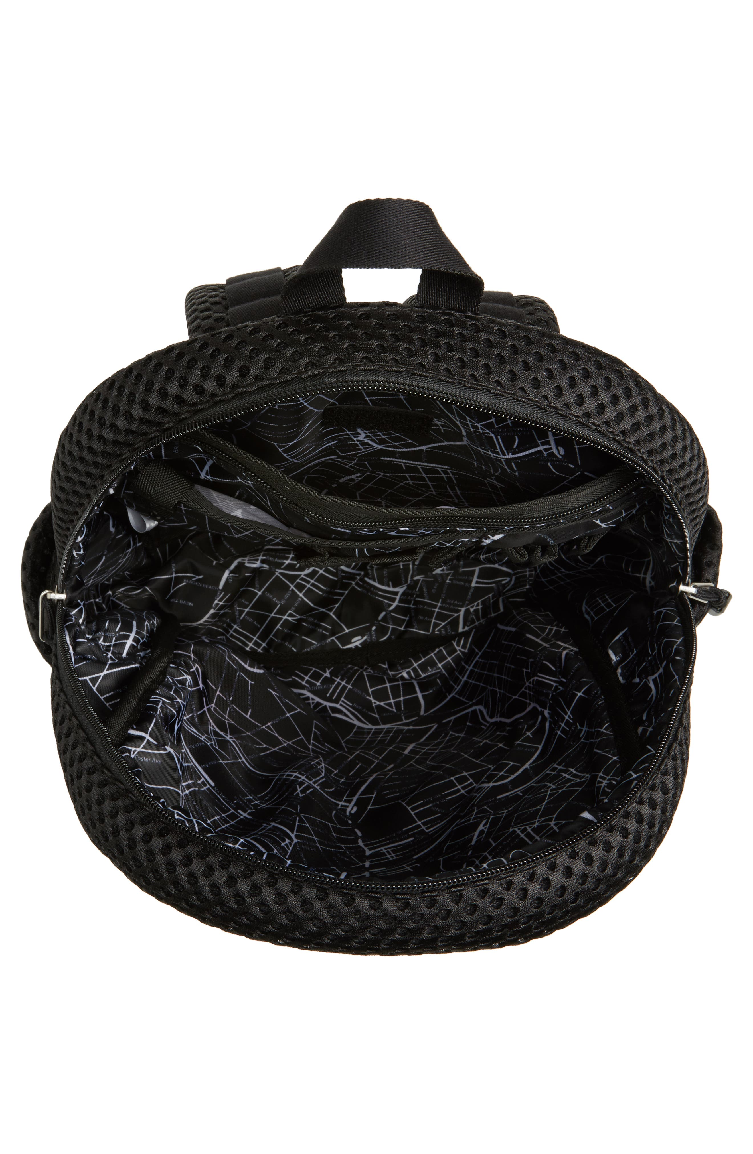 Lacrosse Mesh Kane Backpack,                             Alternate thumbnail 4, color,                             001