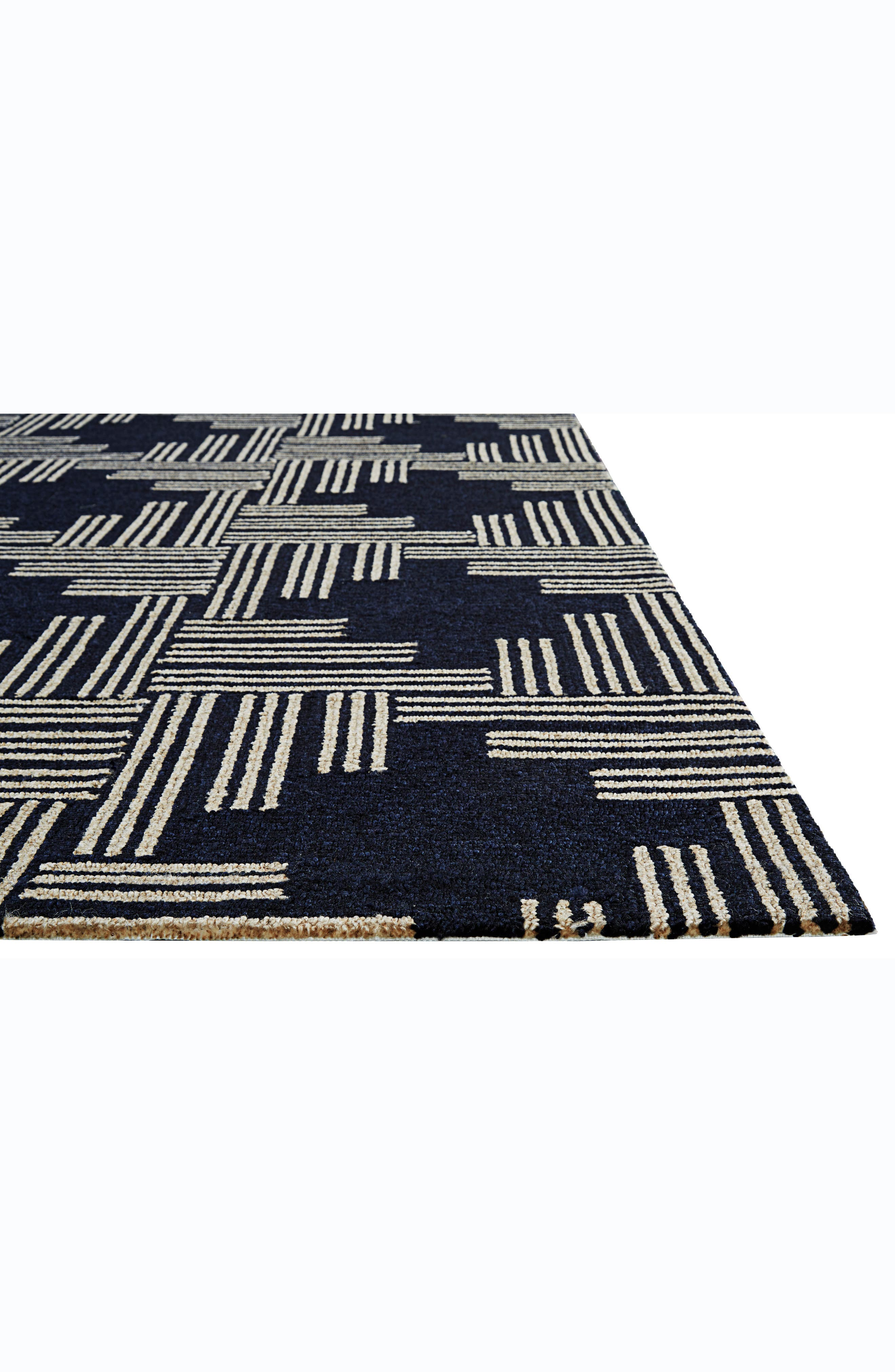 Contemporary Geo Cross Rug,                             Alternate thumbnail 6, color,