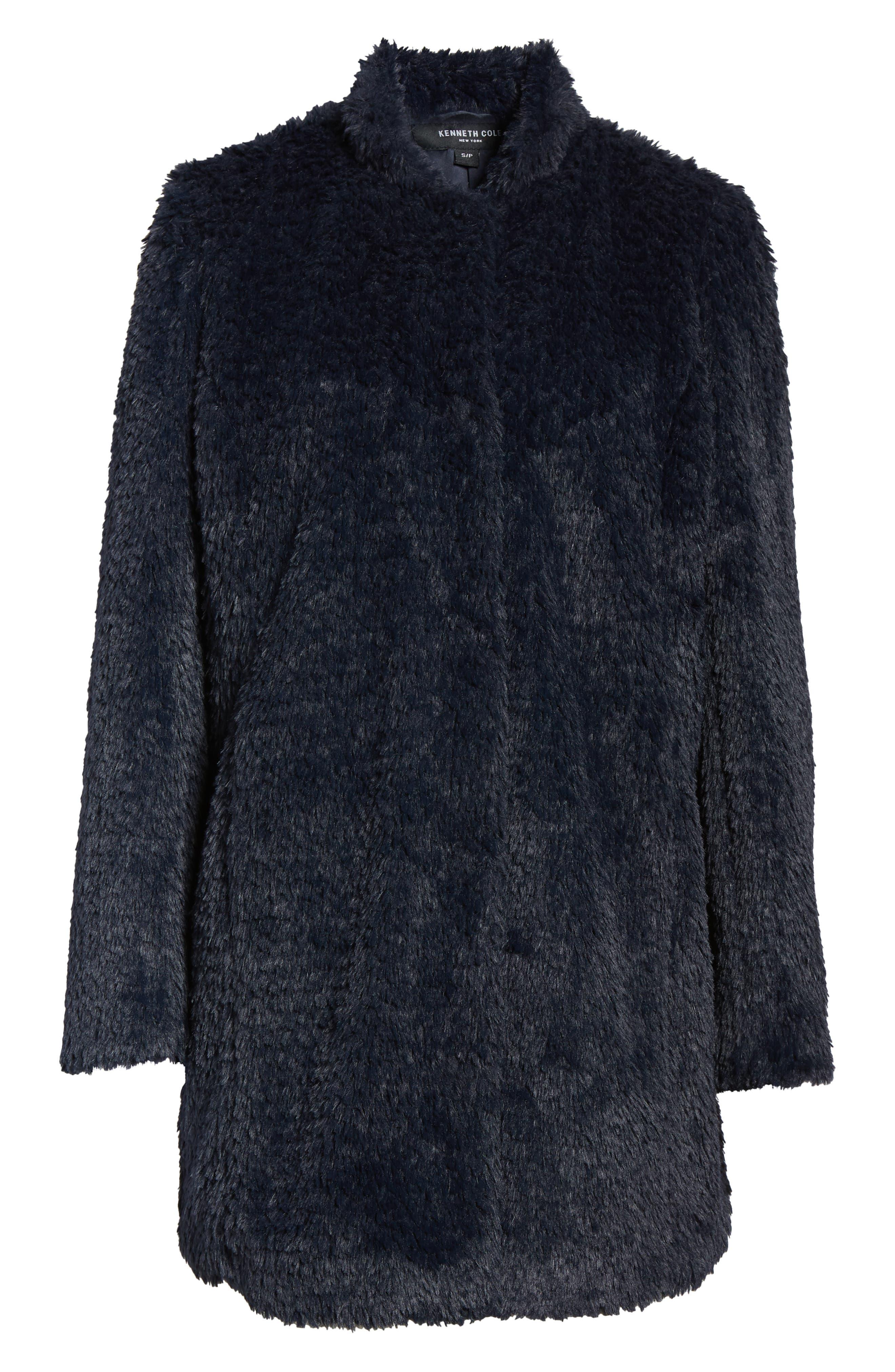 Faux Fur Jacket,                             Alternate thumbnail 27, color,