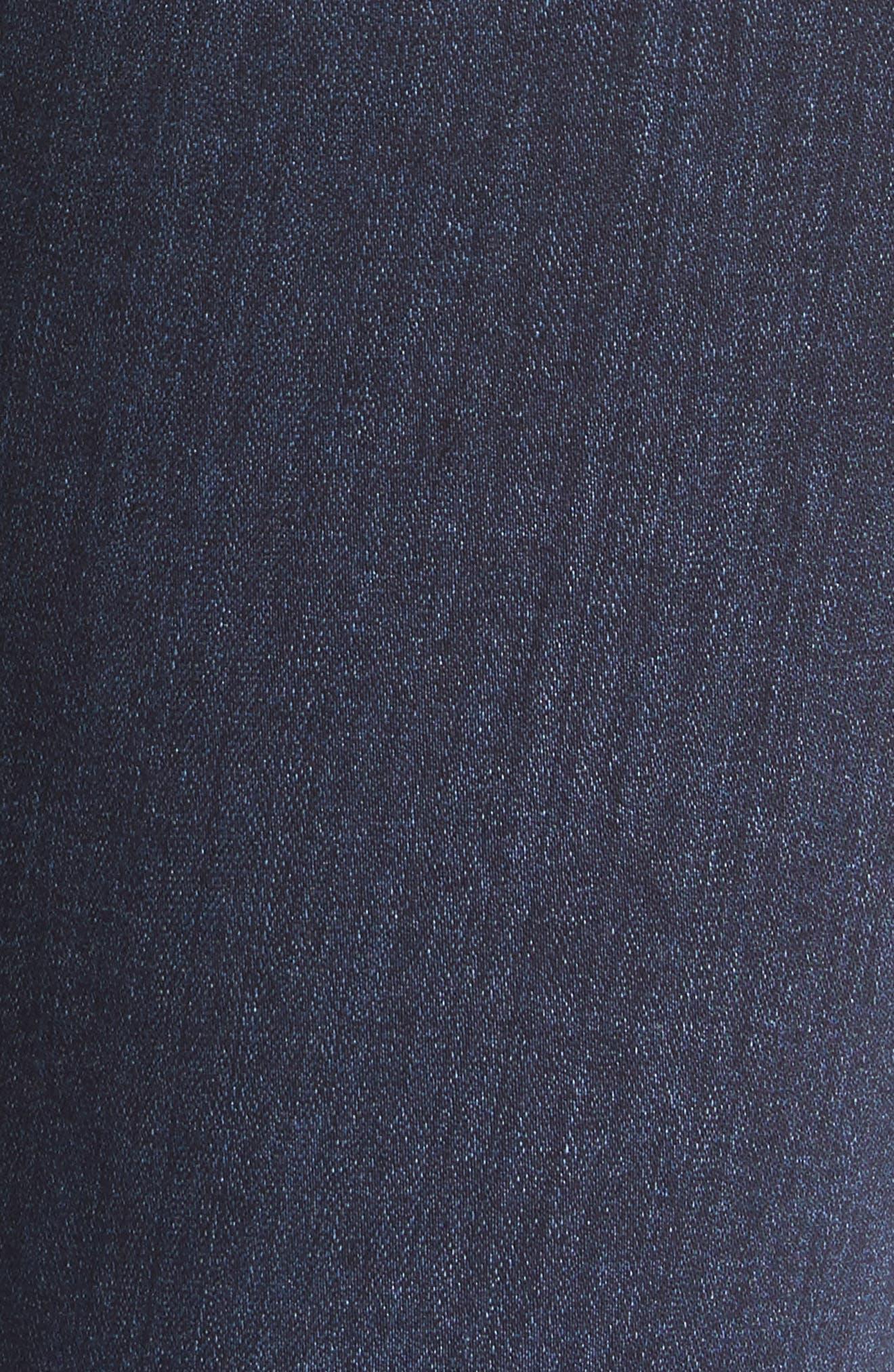 Transcend - Hoxton High Waist Ankle Skinny Jeans,                             Alternate thumbnail 6, color,                             400