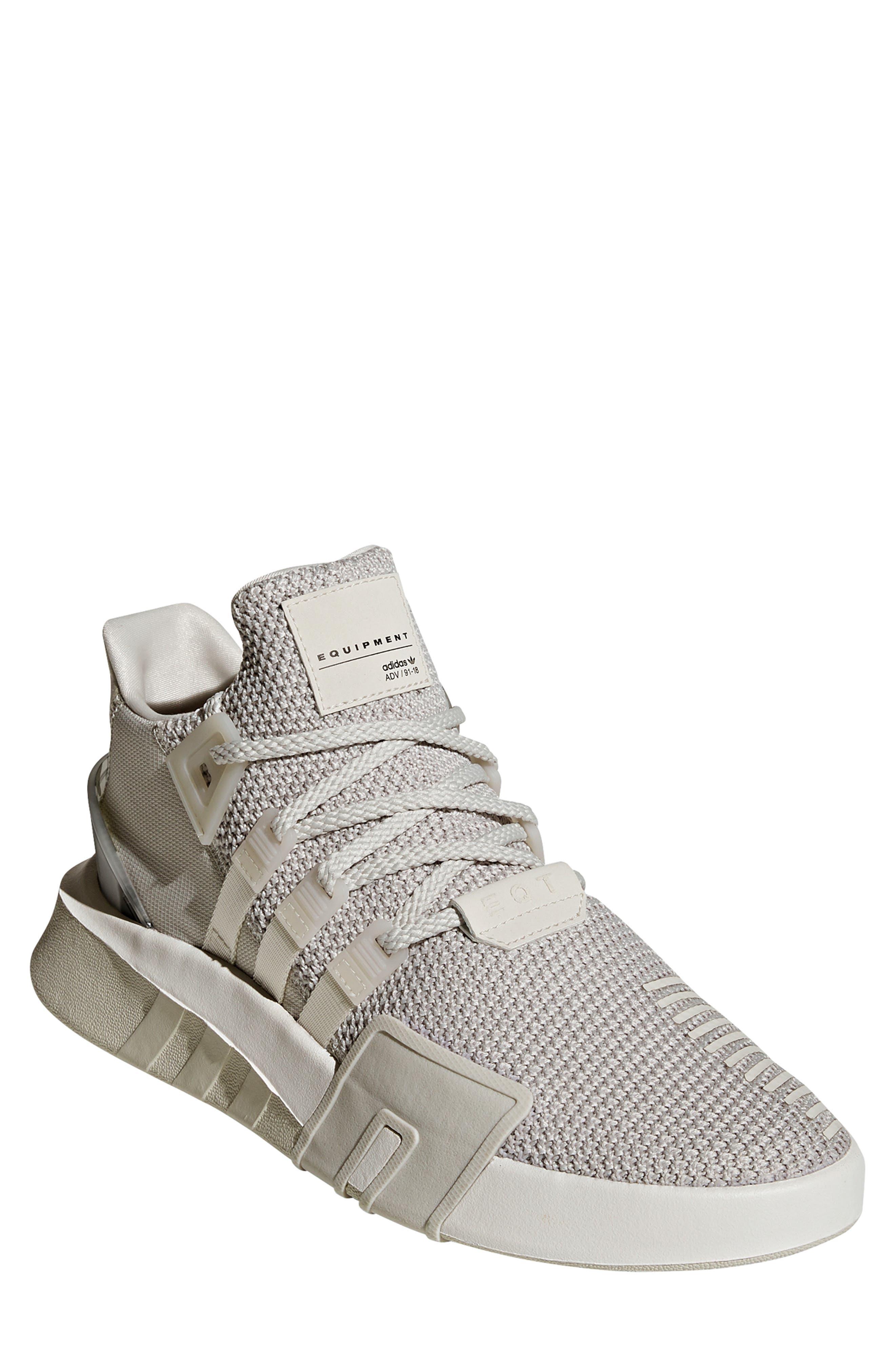 EQT Basketball ADV Sneaker,                         Main,                         color, GREY/ CHALK WHITE