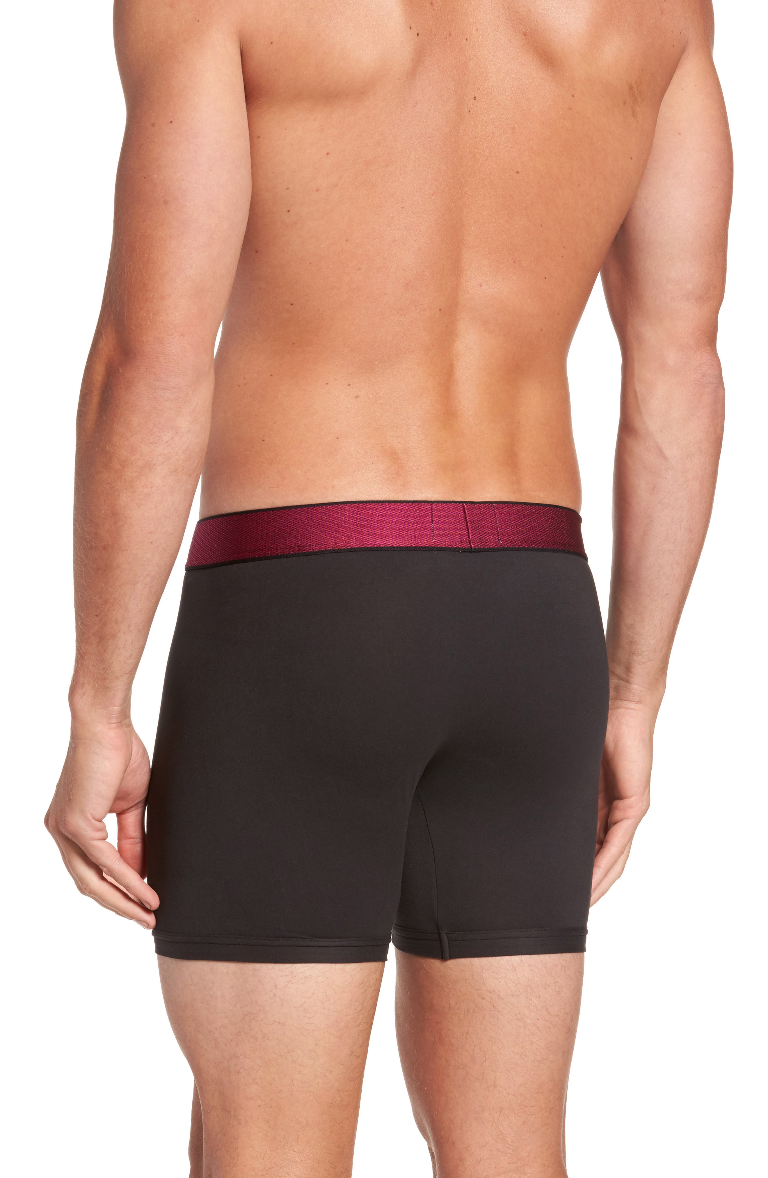 Customized Stretch Boxer Briefs,                             Alternate thumbnail 8, color,