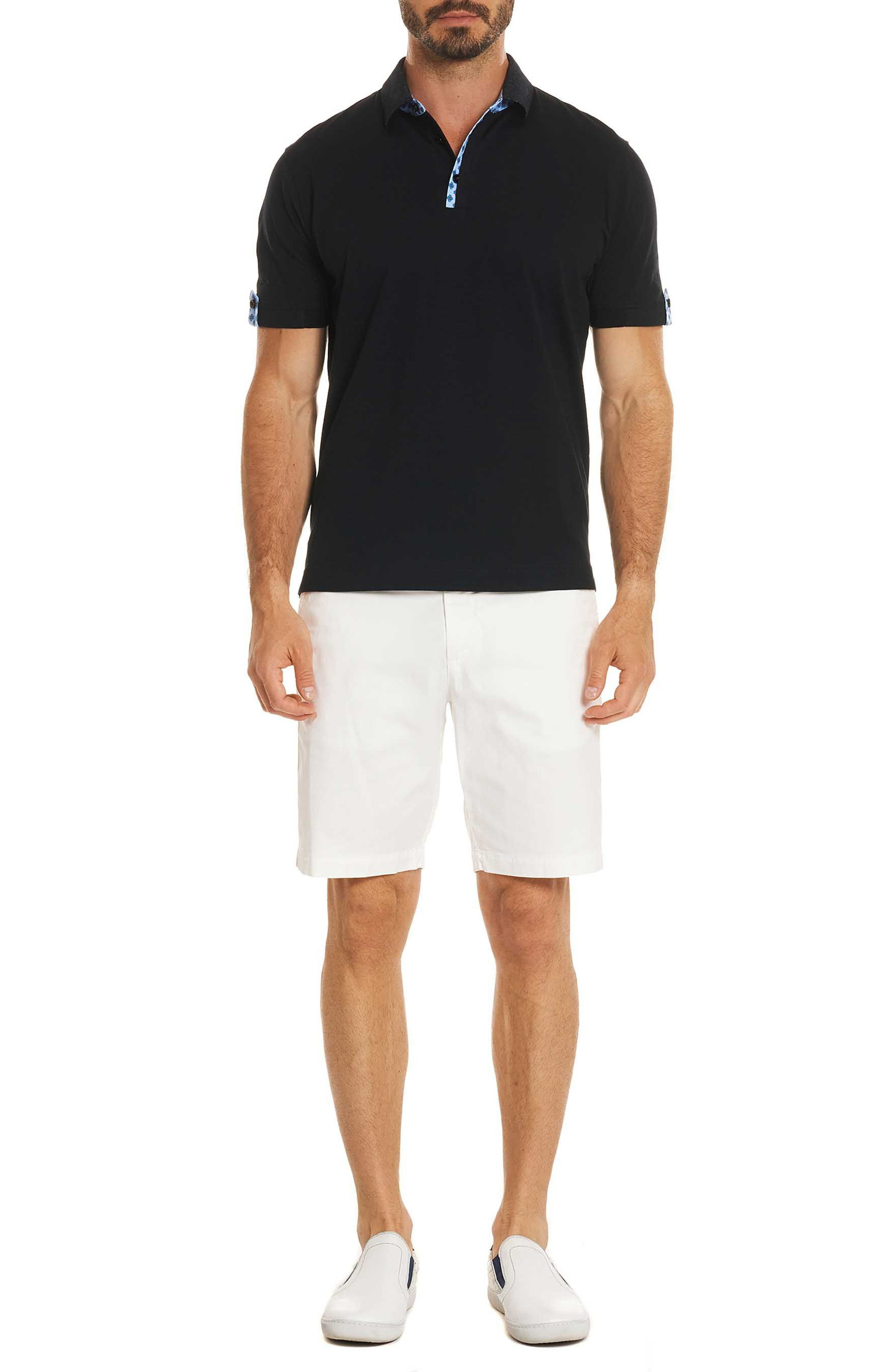 Diego Classic Fit Polo,                             Alternate thumbnail 6, color,                             001