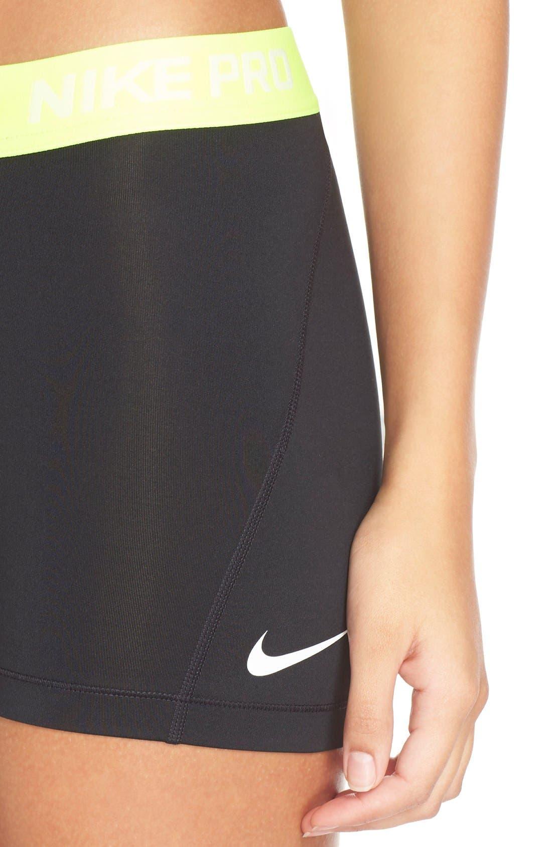 NIKE,                             'Pro' Dri-FIT Shorts,                             Alternate thumbnail 2, color,                             012