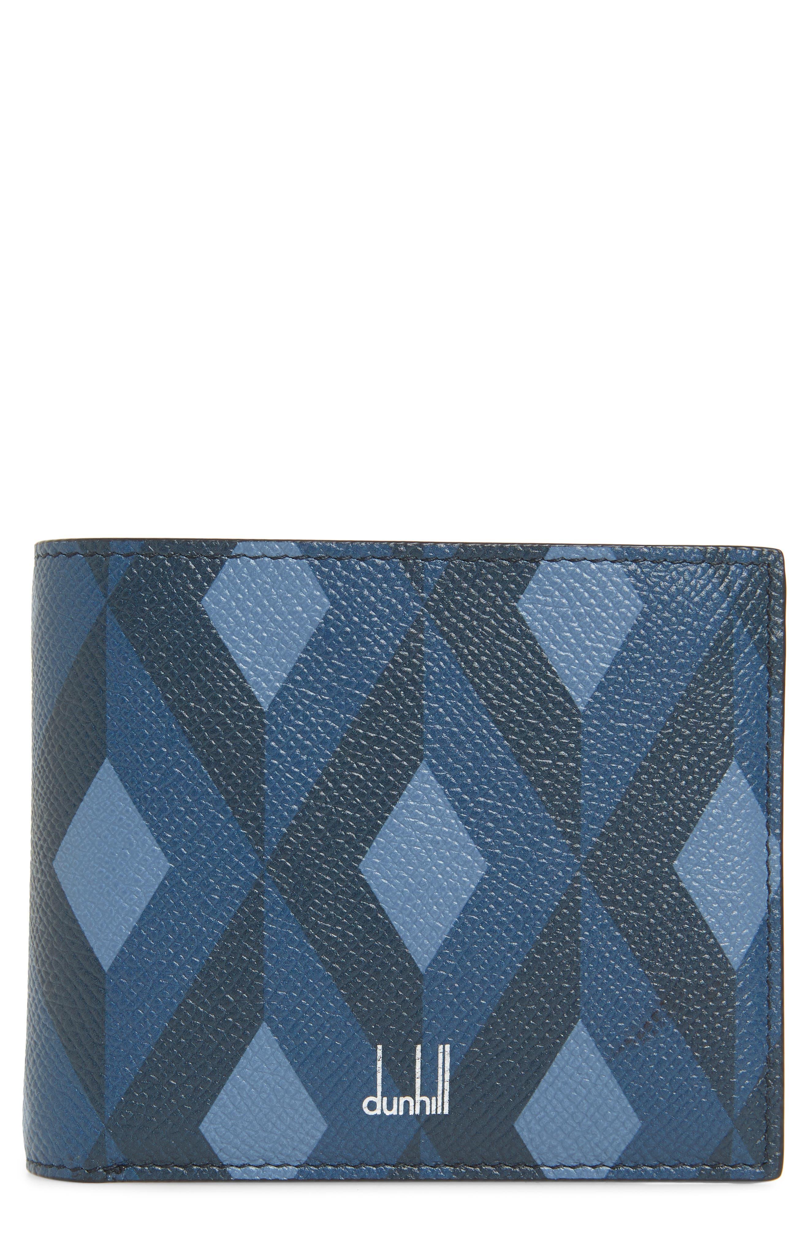 Cadogan Leather Wallet,                         Main,                         color, BLUE