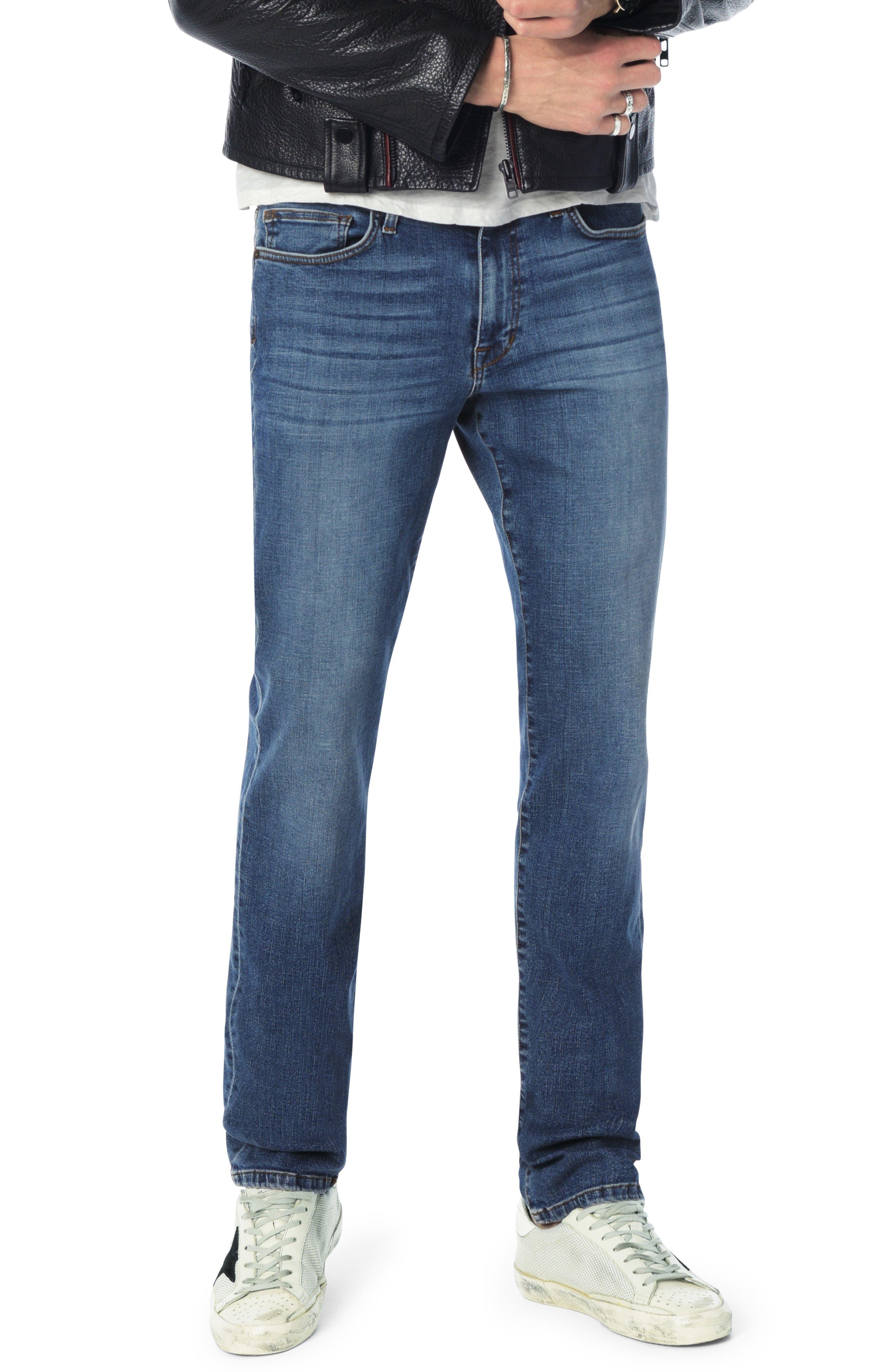 Men's Joe's Brixton Slim Straight Leg Jeans, Size 28 - Blue