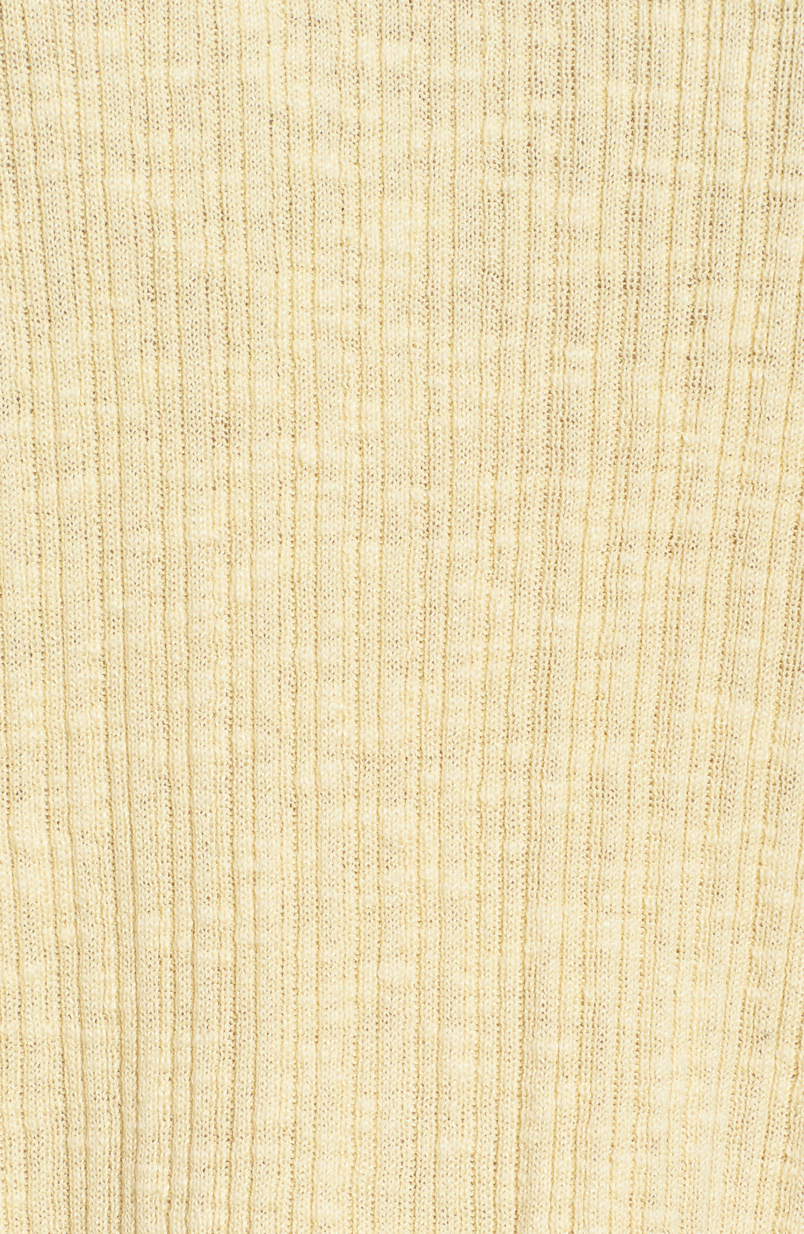 Organic Linen & Cotton Crewneck Sweater,                             Alternate thumbnail 22, color,