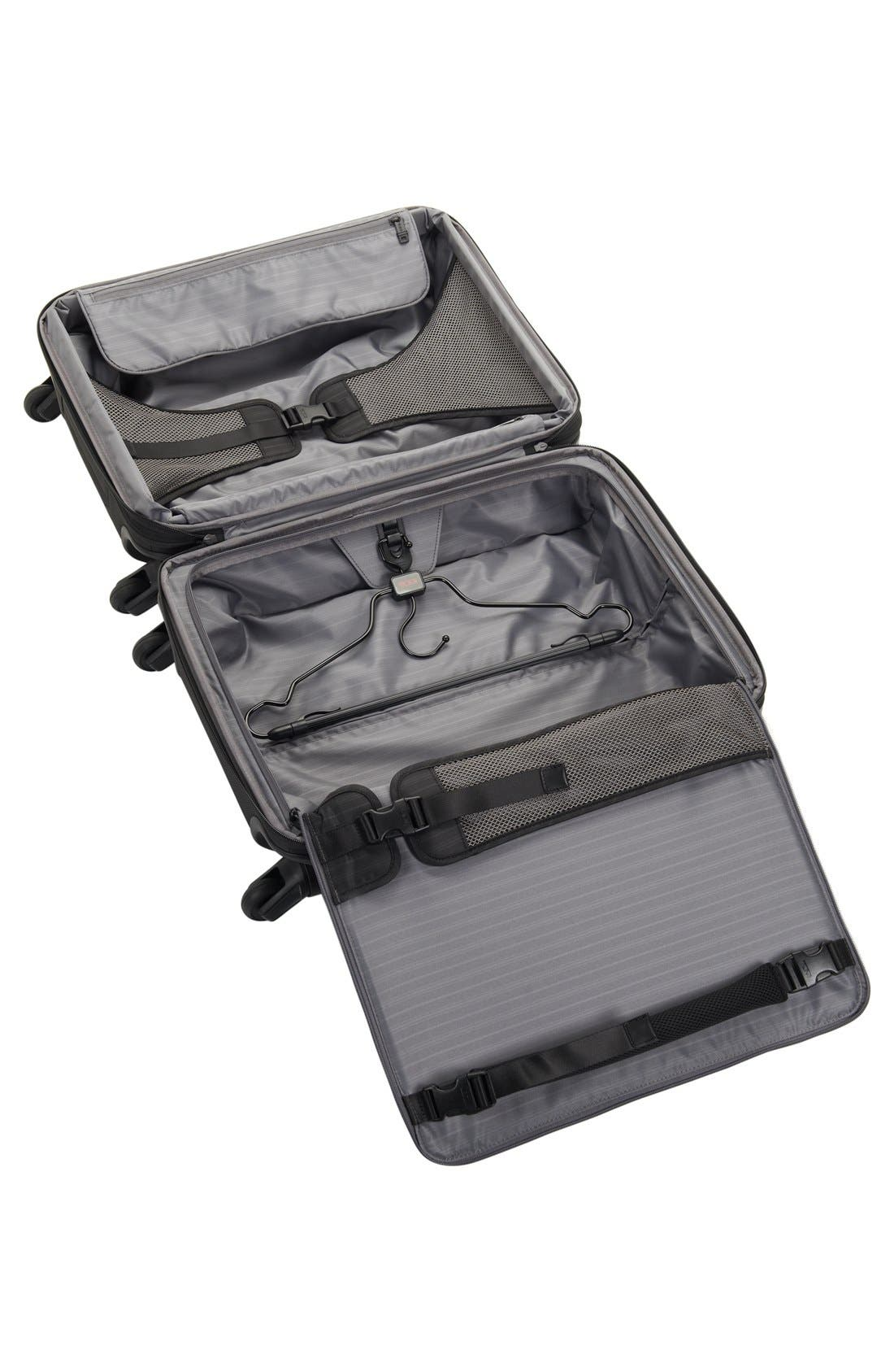 Alpha 2 Continental 22-Inch Carry-On,                             Alternate thumbnail 7, color,                             BLACK