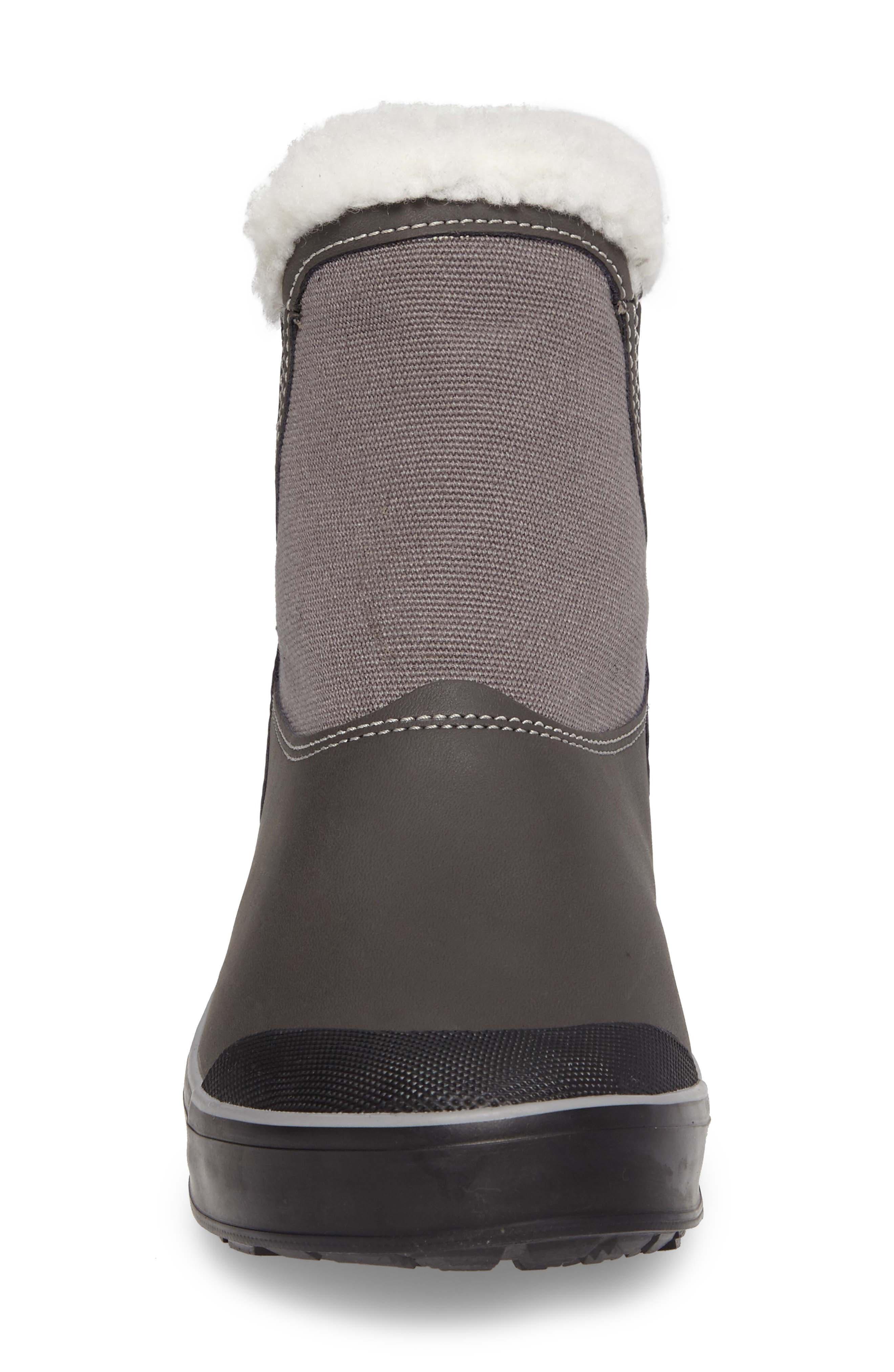 Elsa Chelsea Waterproof Faux Fur Lined Boot,                             Alternate thumbnail 15, color,