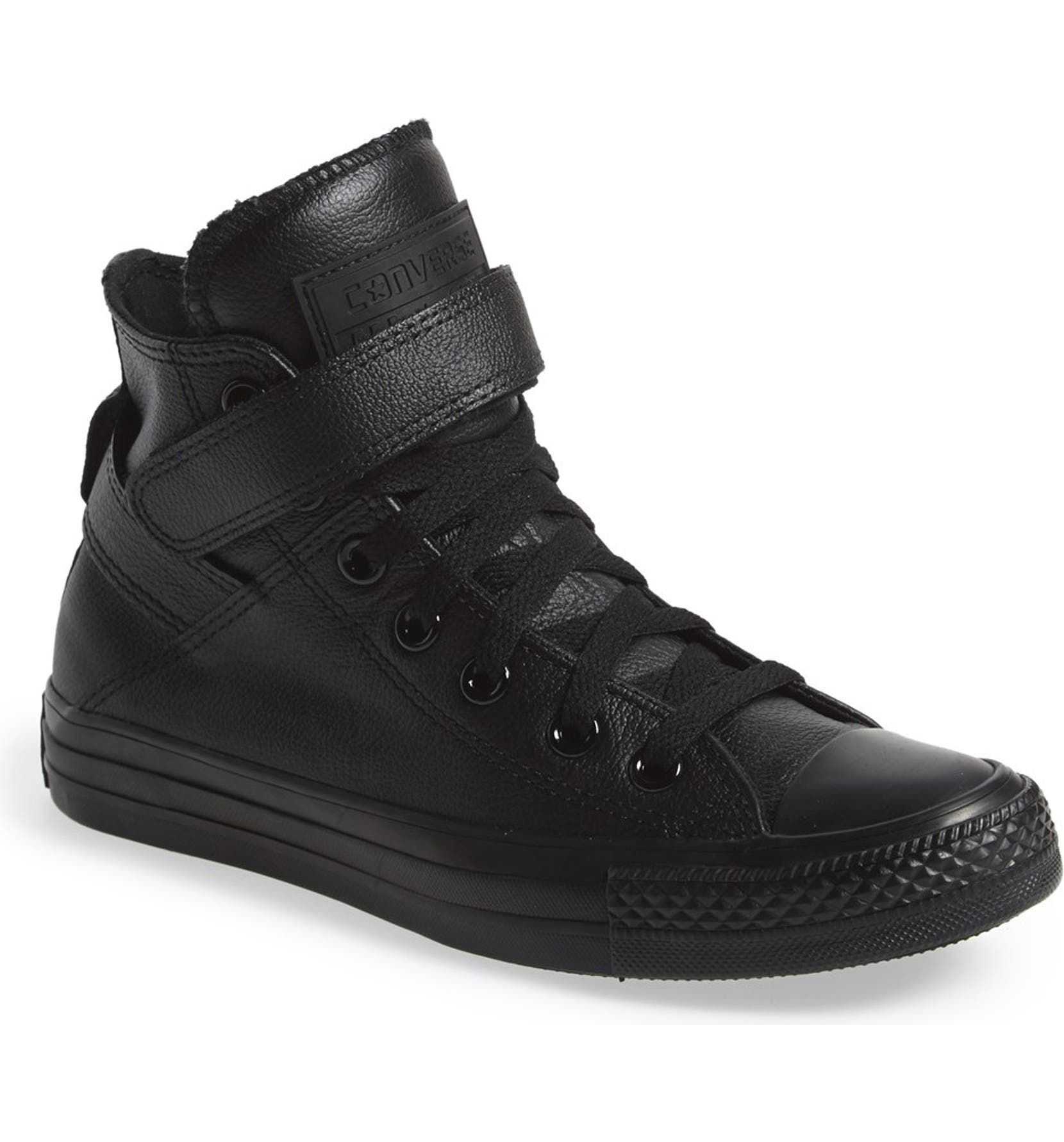 0d670307f051 Converse Chuck Taylor® All Star®  Brea  Leather High Top Sneaker (Women)